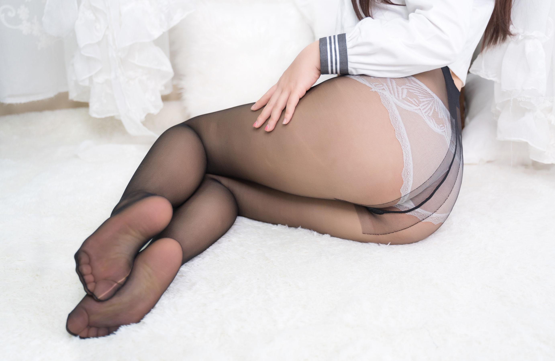 People 2764x1800 pantyhose black pantyhose women lingerie panties pointed toes white panties legs ass