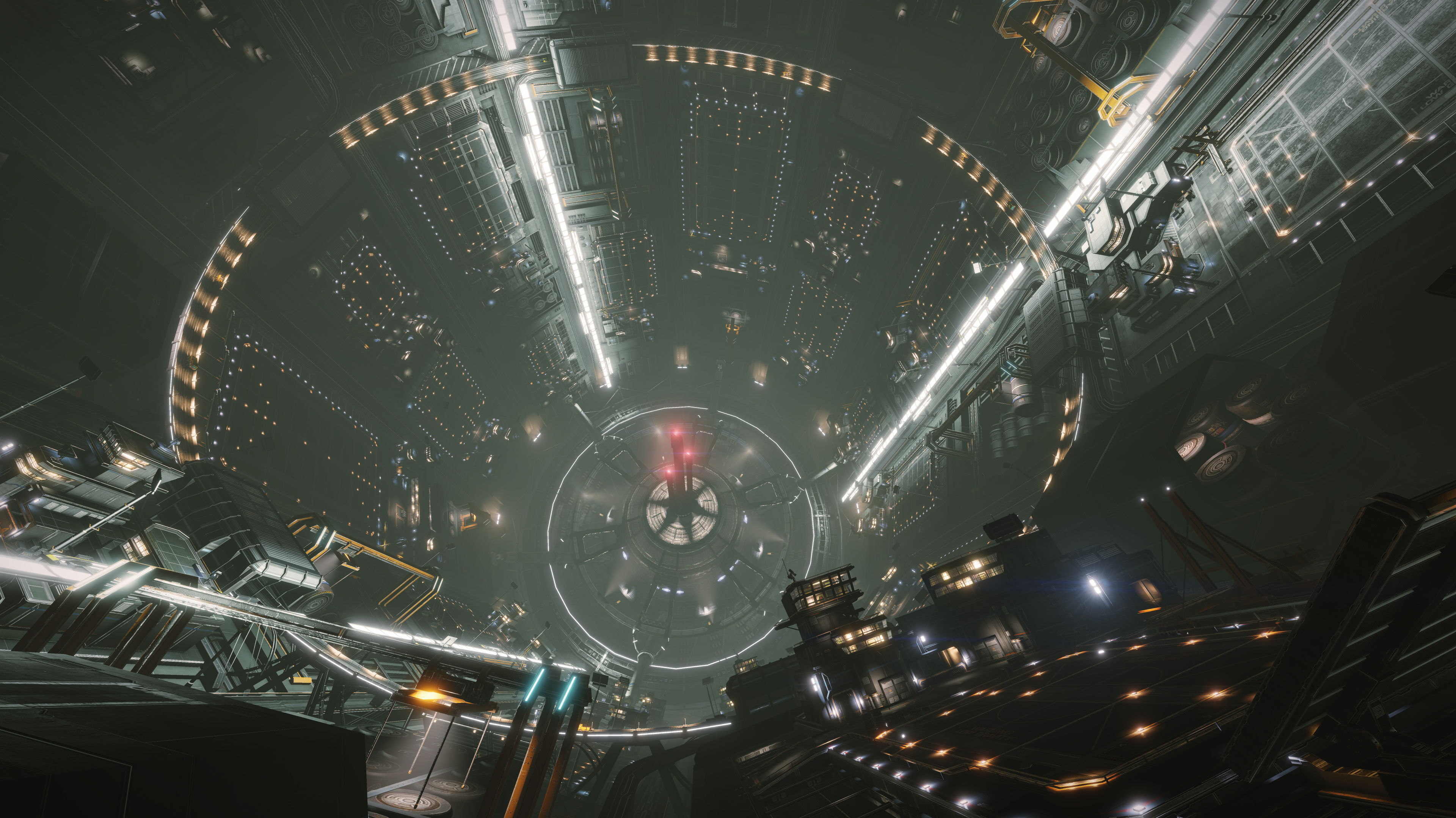 General 3840x2160 Coriolis Station Elite: Dangerous
