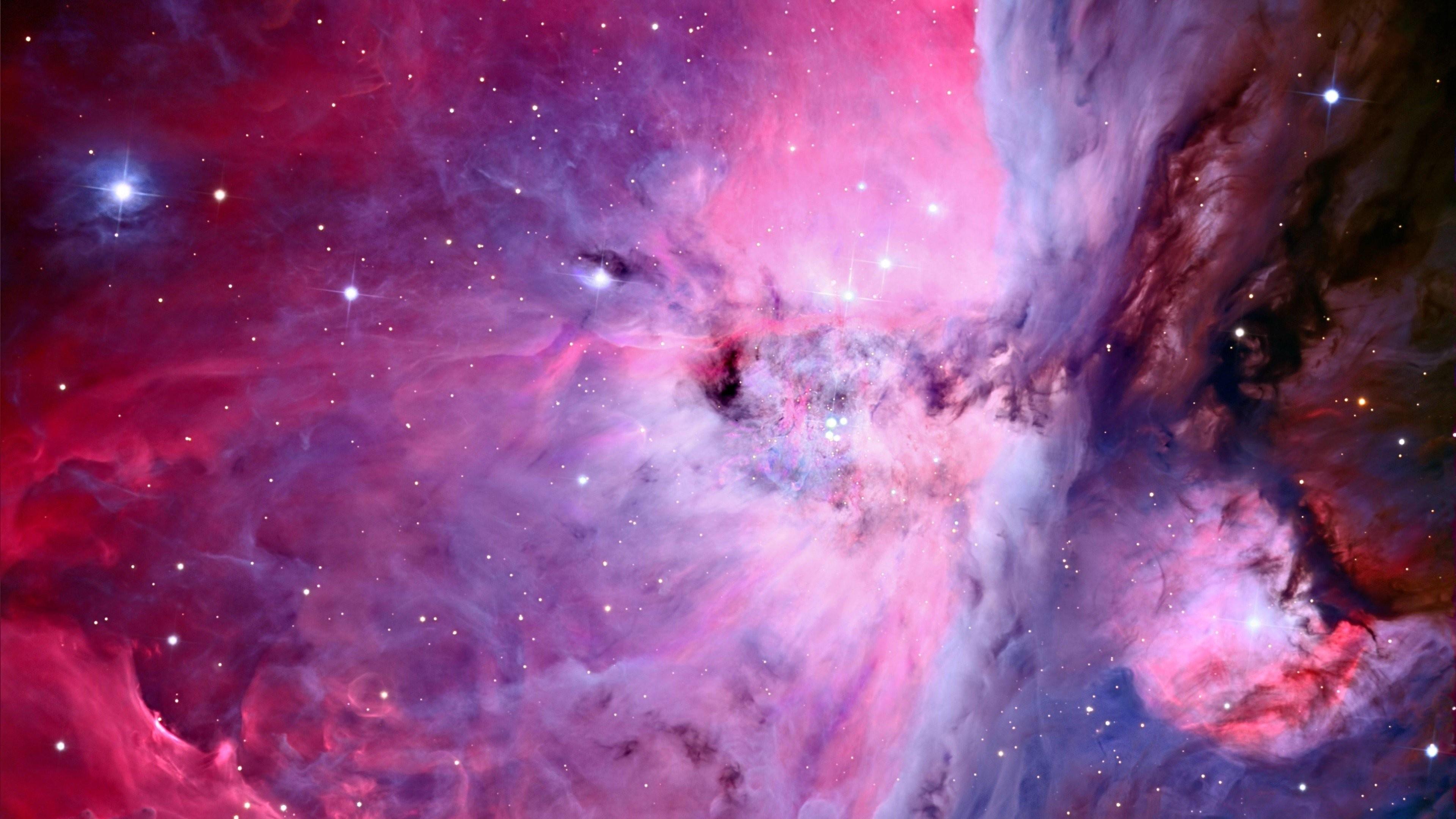 General 3840x2160 space stars nebula space art space clouds