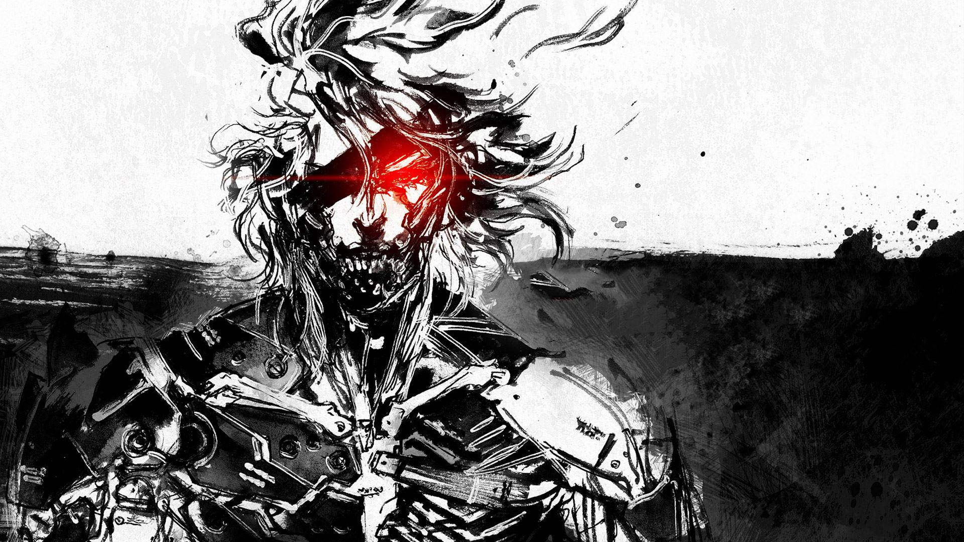 General 1920x1080 Metal Gear Rising: Revengeance Raiden Metal Gear video games artwork
