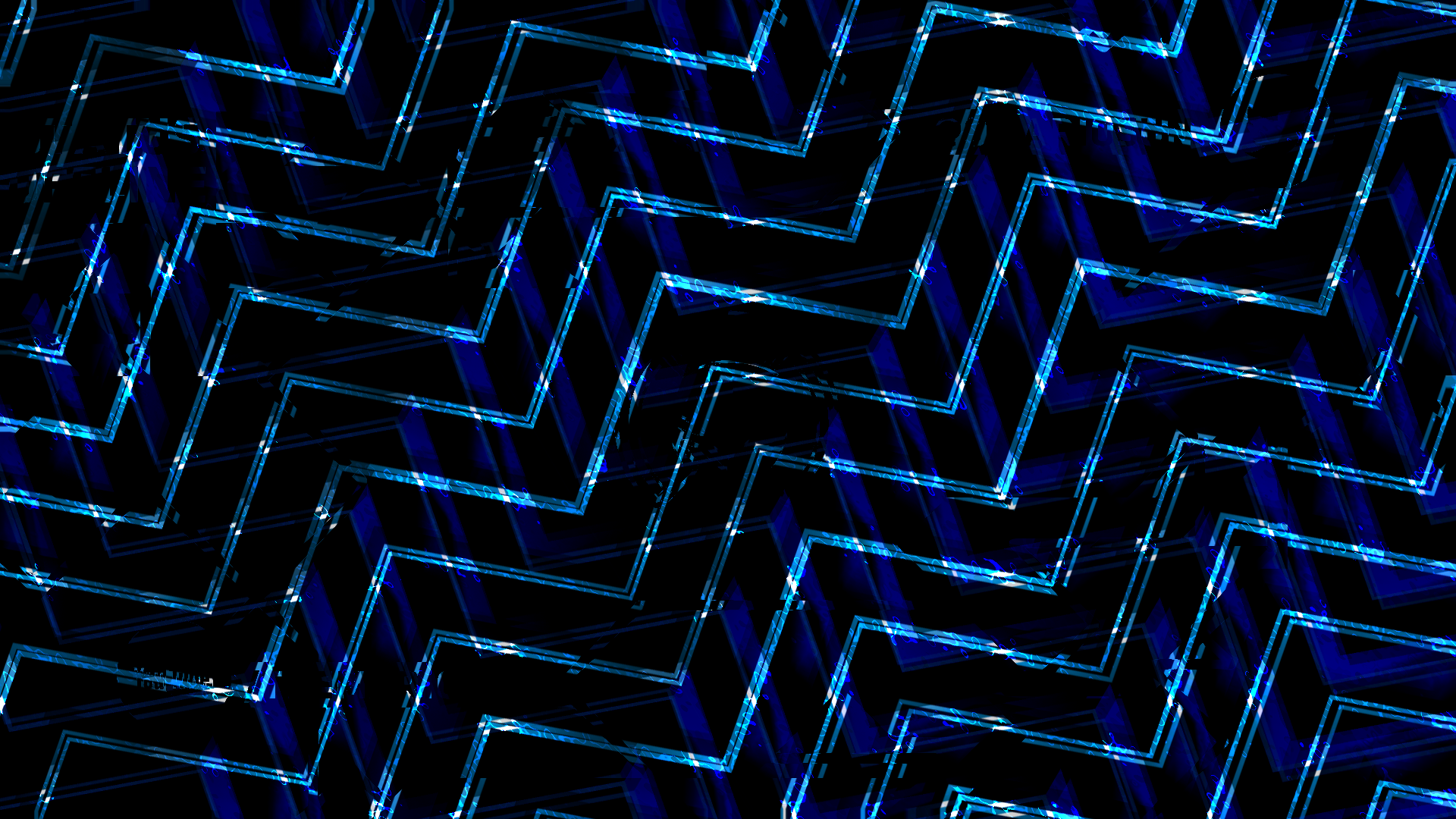 General 1920x1080 lines abstract blue digital art