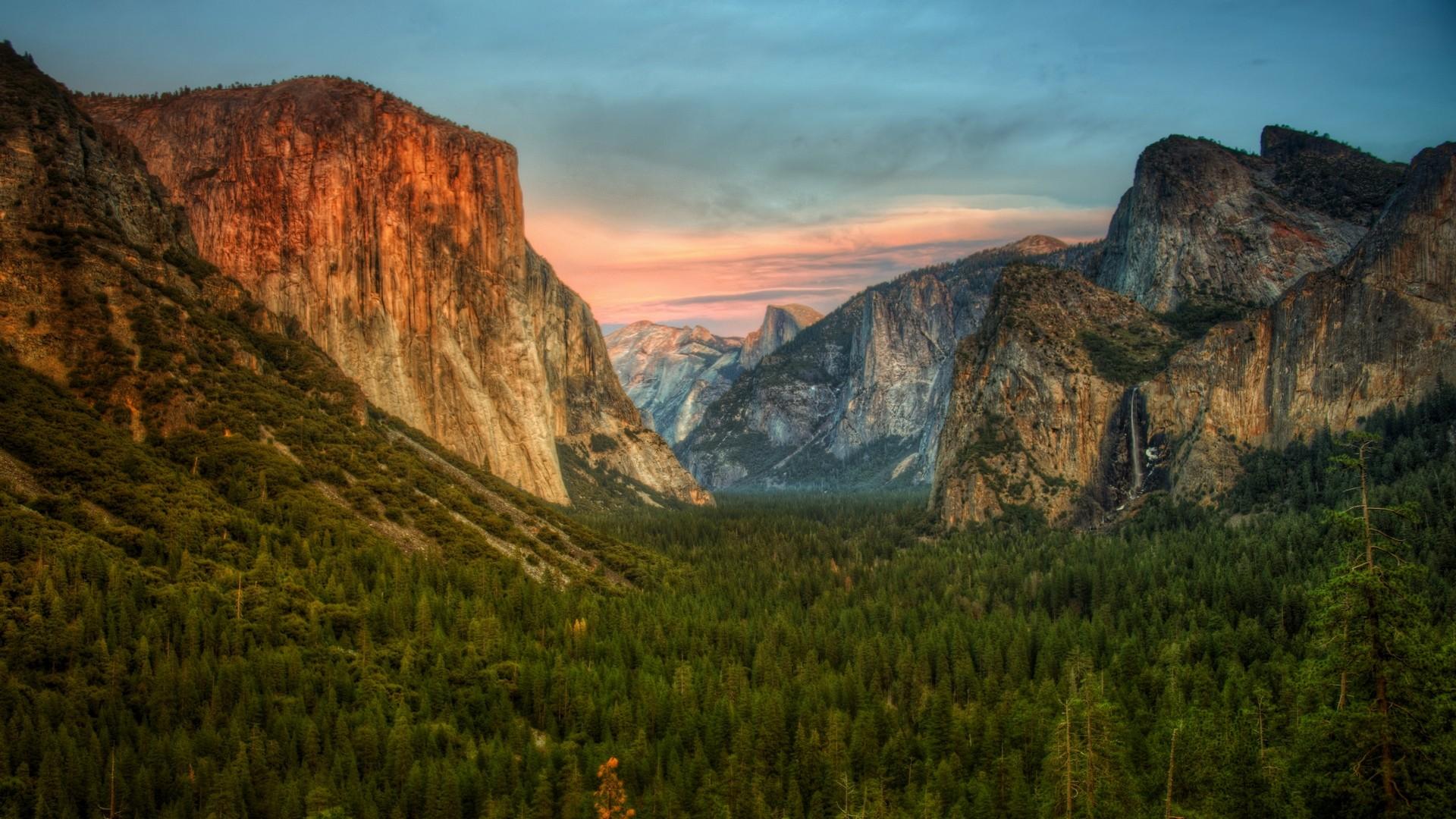 General 1920x1080 landscape nature Yosemite National Park Yosemite Valley