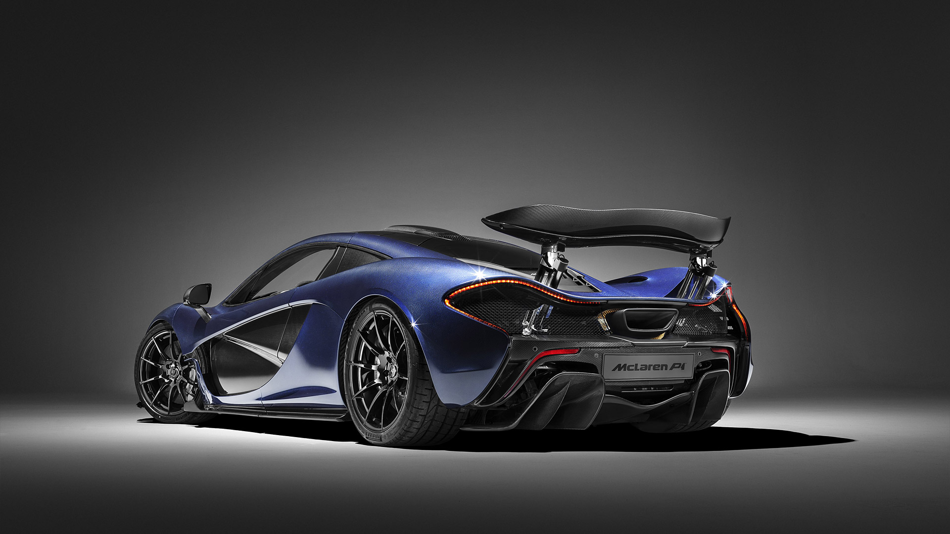 General 1920x1080 McLaren P1 car vehicle simple background spotlights