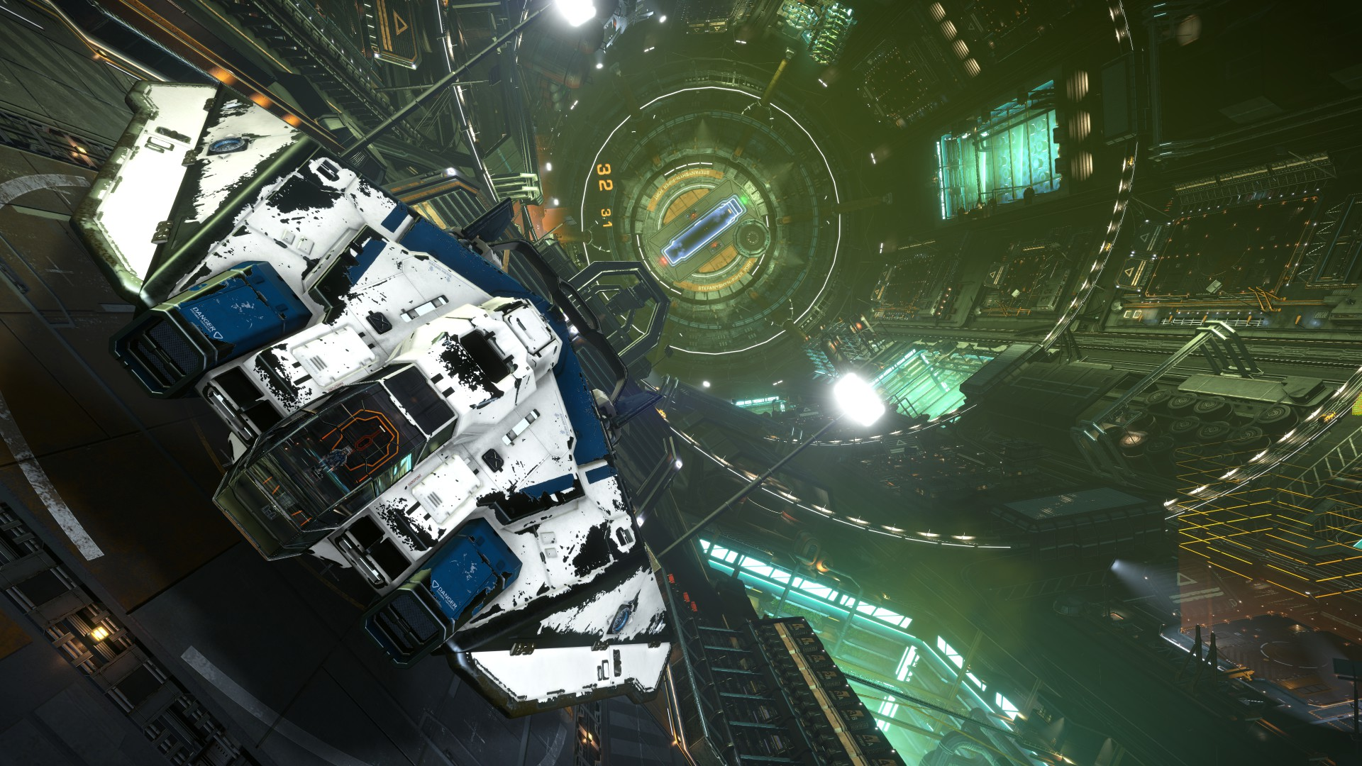 General 1920x1080 Elite: Dangerous space Space Simulator spaceship space station Starport Coriolis Station ASP Explorer