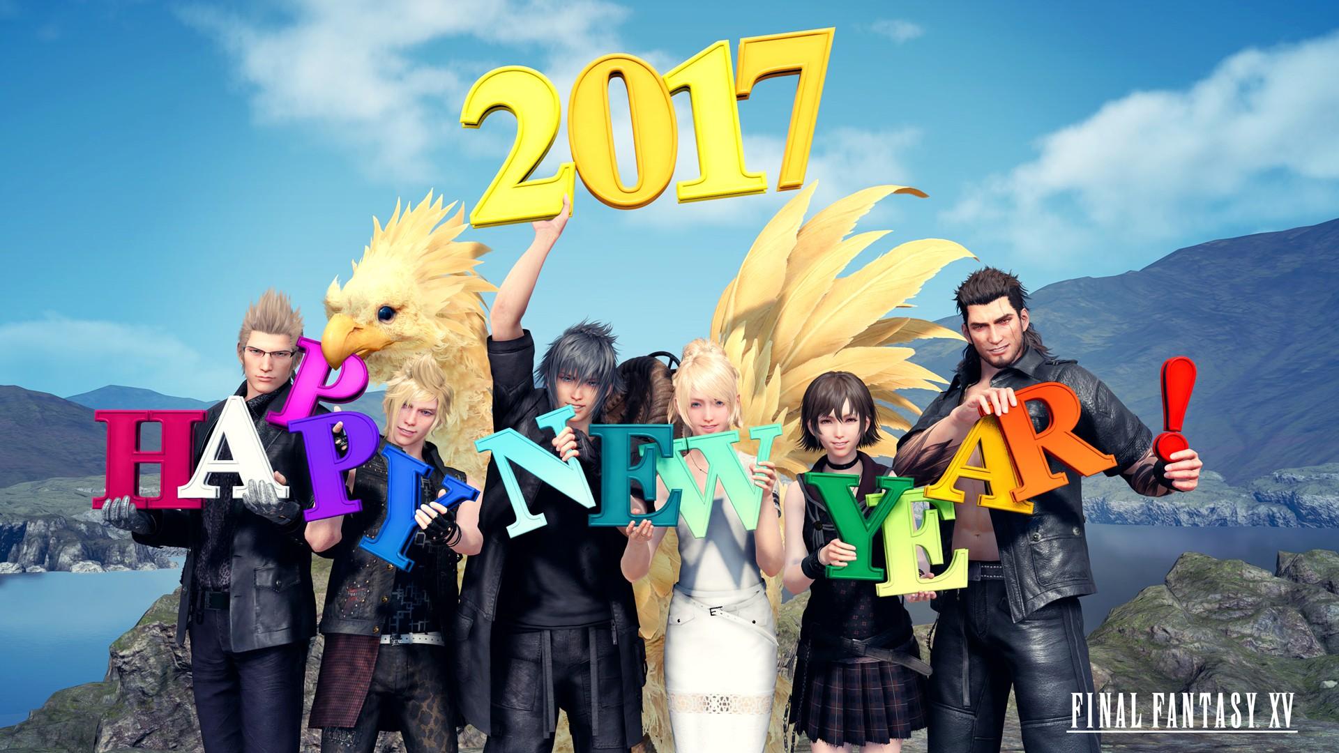 General 1920x1080 New Year 2017 (Year) Final Fantasy XV Final Fantasy