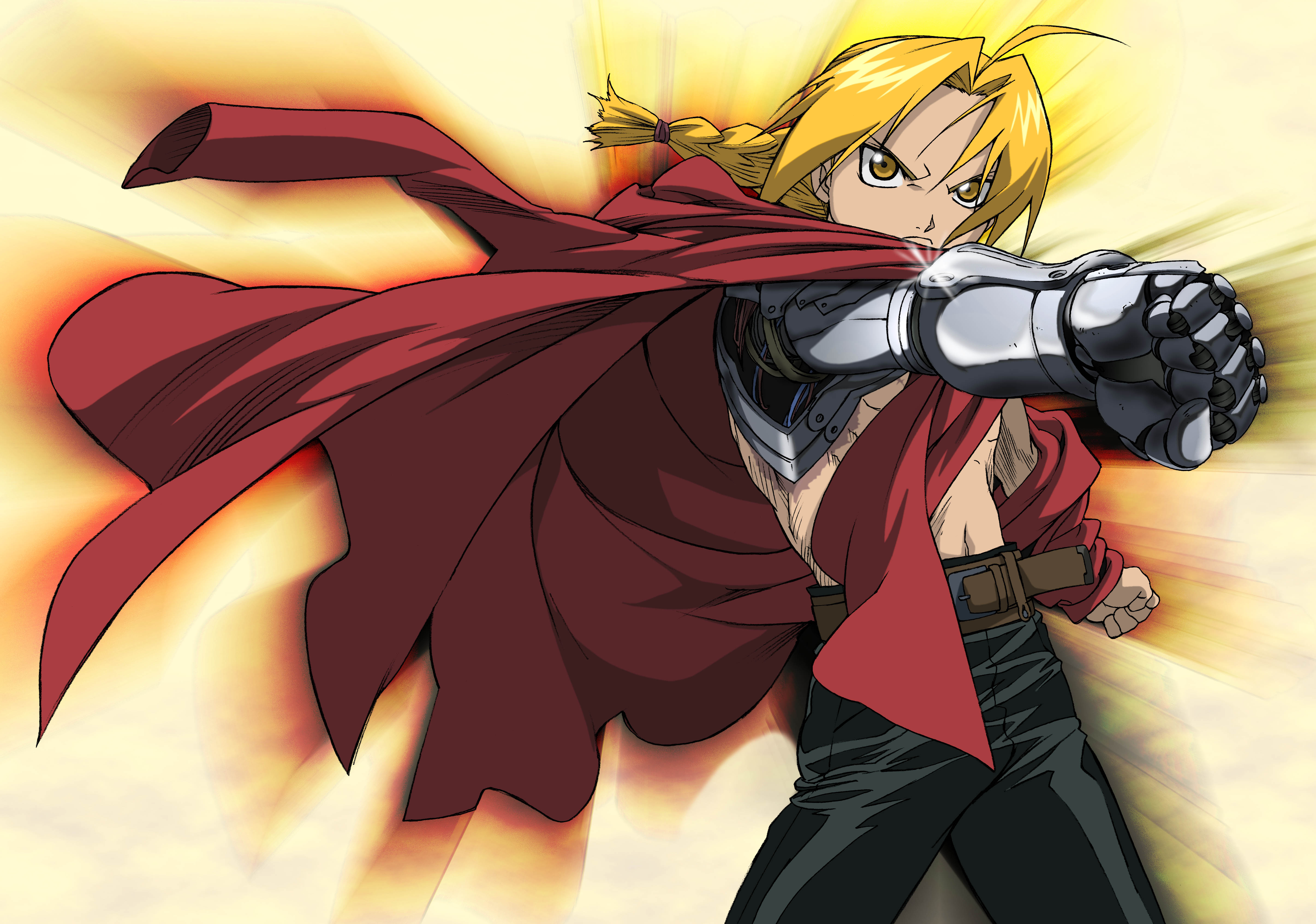 anime, Full Metal Alchemist, Elric Edward   5706x4008 ...