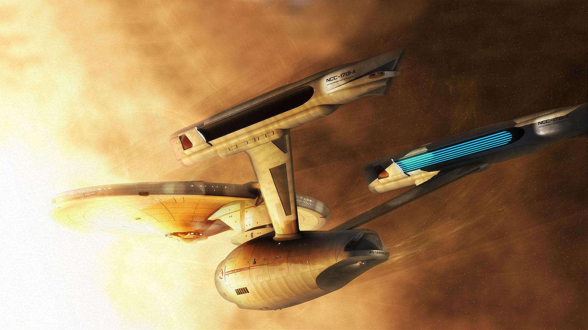 General 1920x1080 Star Trek USS Enterprise (spaceship) spaceship science fiction artwork