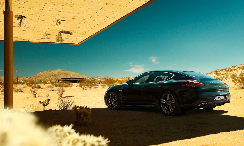 General 1500x897 car vehicle Porsche Porsche Panamera CGI desert landscape clear sky