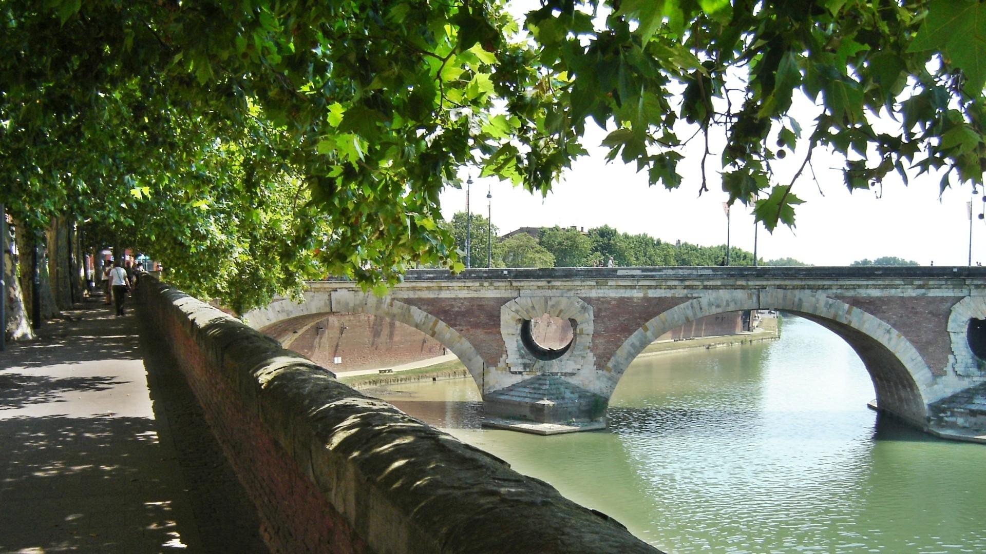 General 1920x1080 Toulouse Pont-Neuf Garonne France