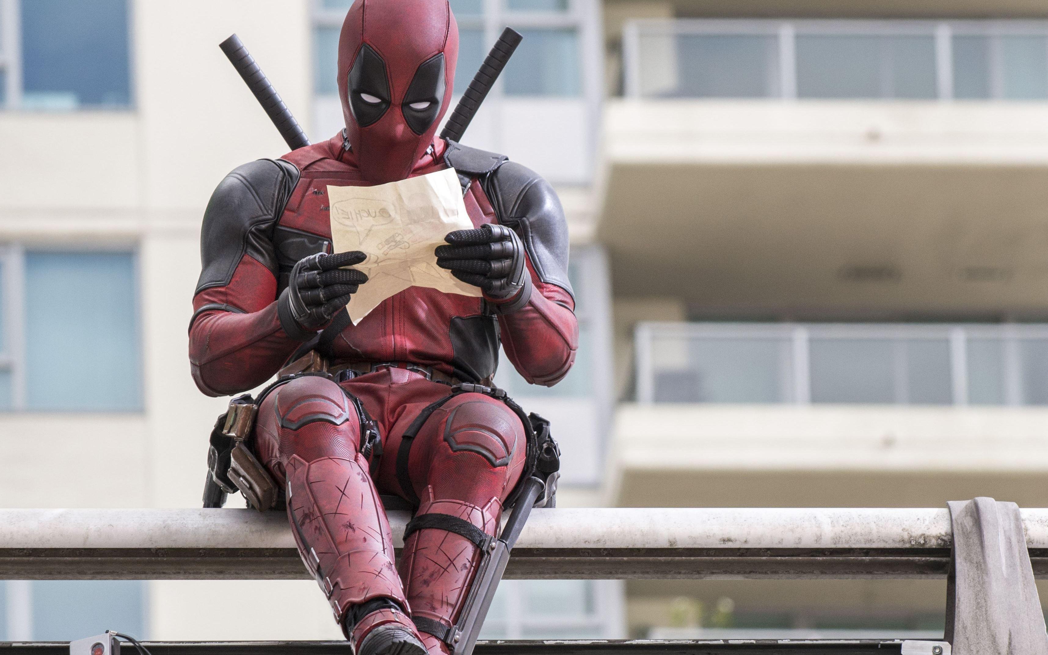 People 3432x2146 Marvel Comics Deadpool Wade Wilson movies Ryan Reynolds