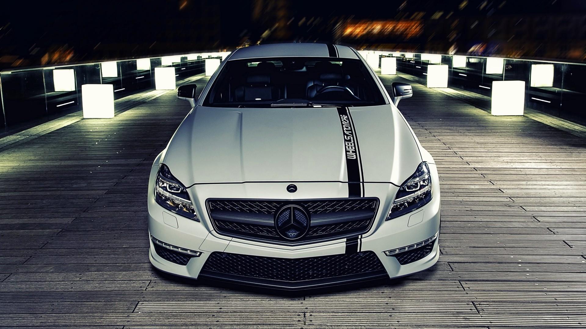 General 1920x1080 Mercedes-Benz supercars car vehicle white cars