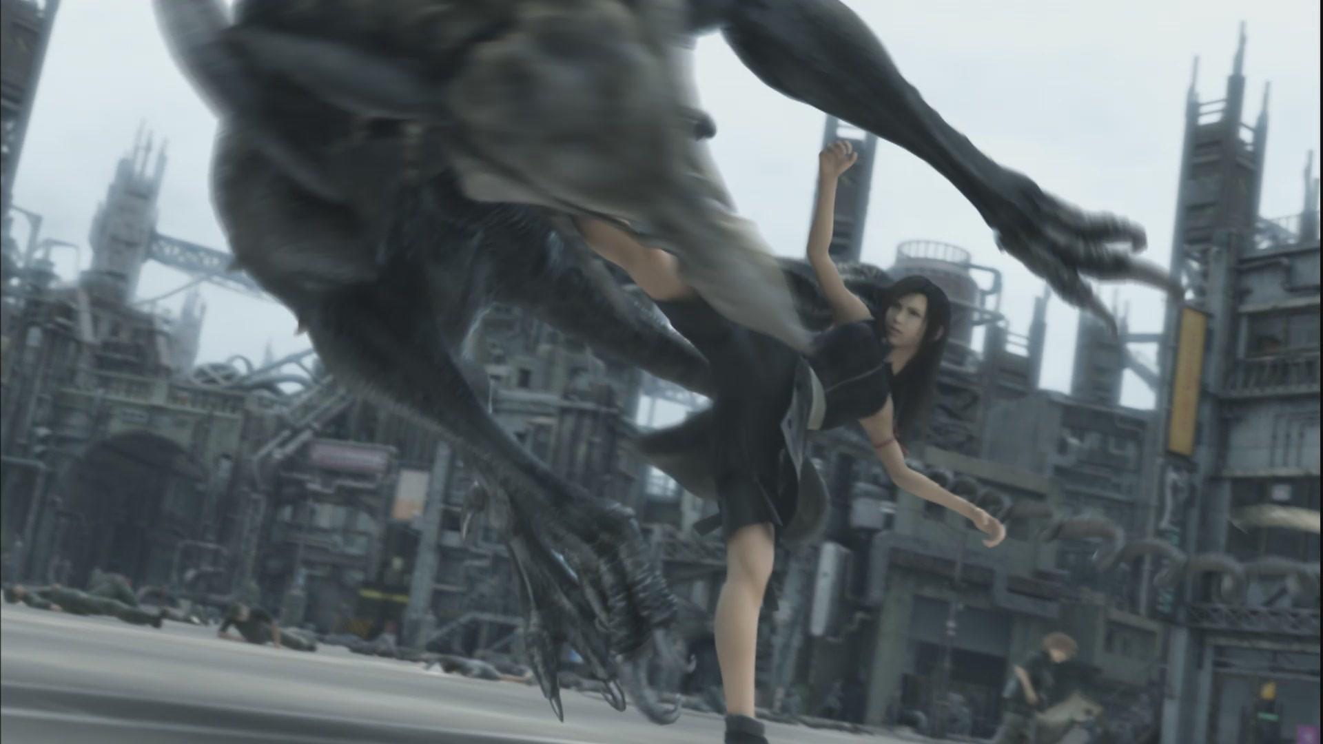 General 1920x1080 movies Final Fantasy Final Fantasy VII: Advent Children Tifa Lockhart animated movies