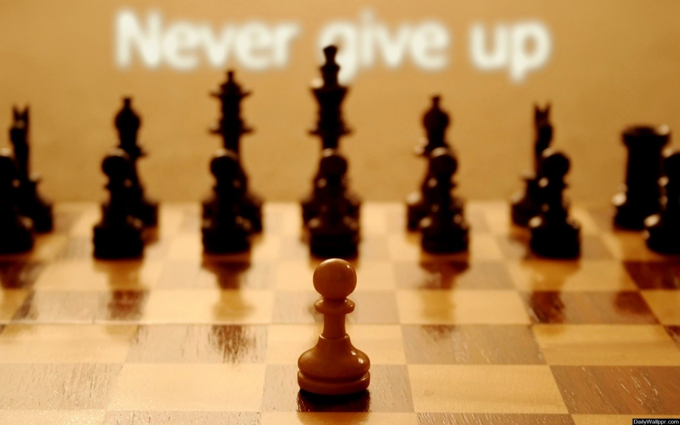 General 1366x853 quote chess typography motivational depth of field
