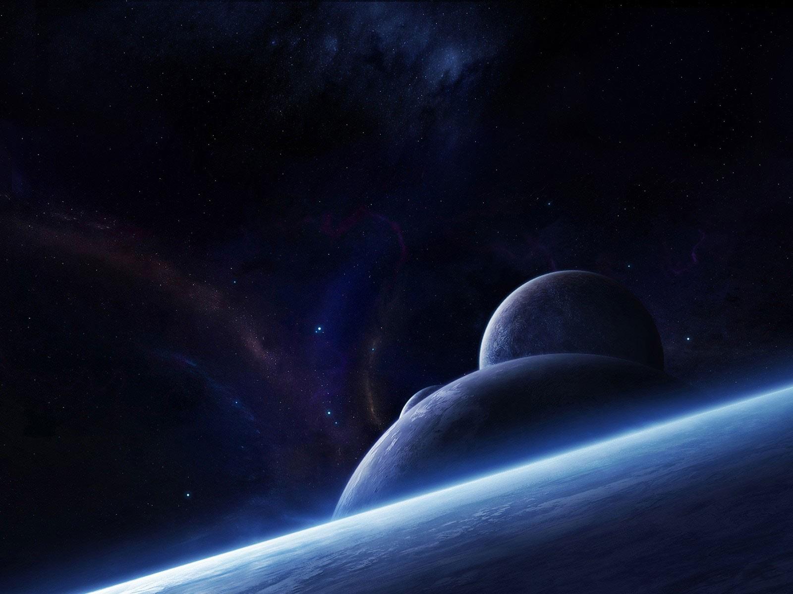 General 1600x1200 space planet space art digital art