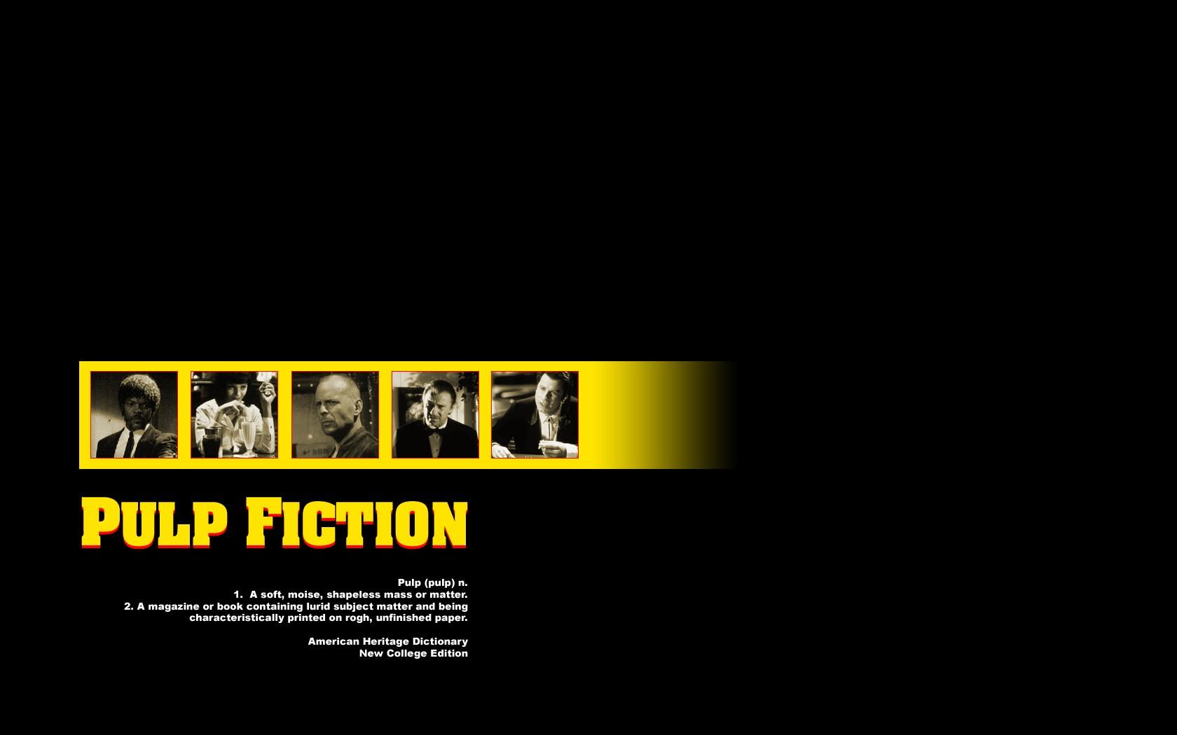 General 1680x1050 Pulp Fiction Samuel L. Jackson Uma Thurman Bruce Willis John Travolta Harvey Keitel Quentin Tarantino