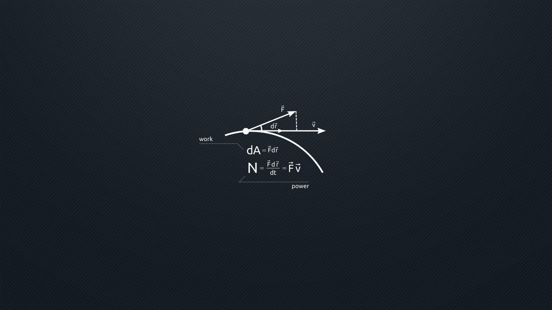 General 1920x1080 equation formula science minimalism simple background Flatdesign symbols