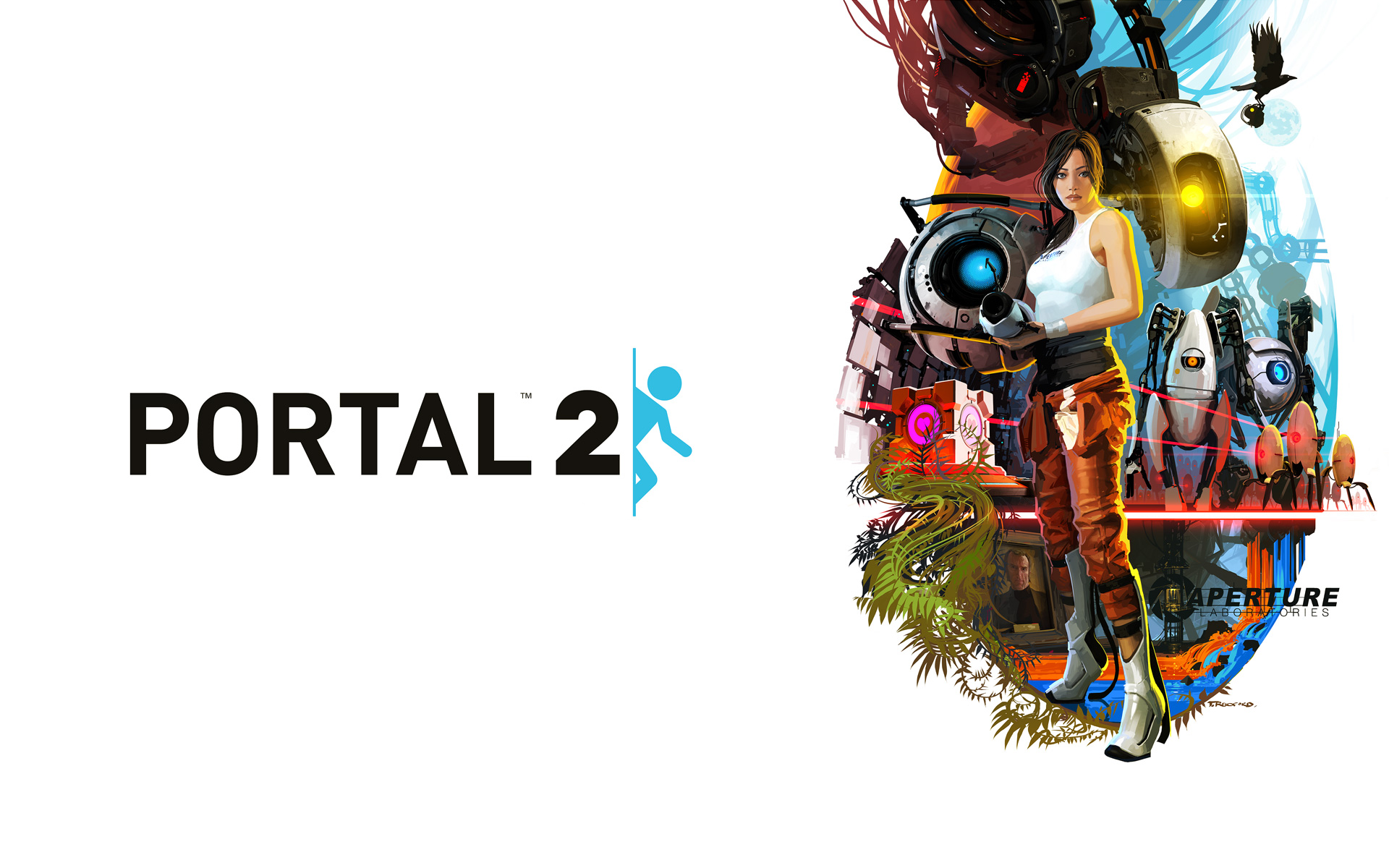General 1920x1200 video games Portal 2 Chell P-body Atlas (Portal) GLaDOS Wheatley