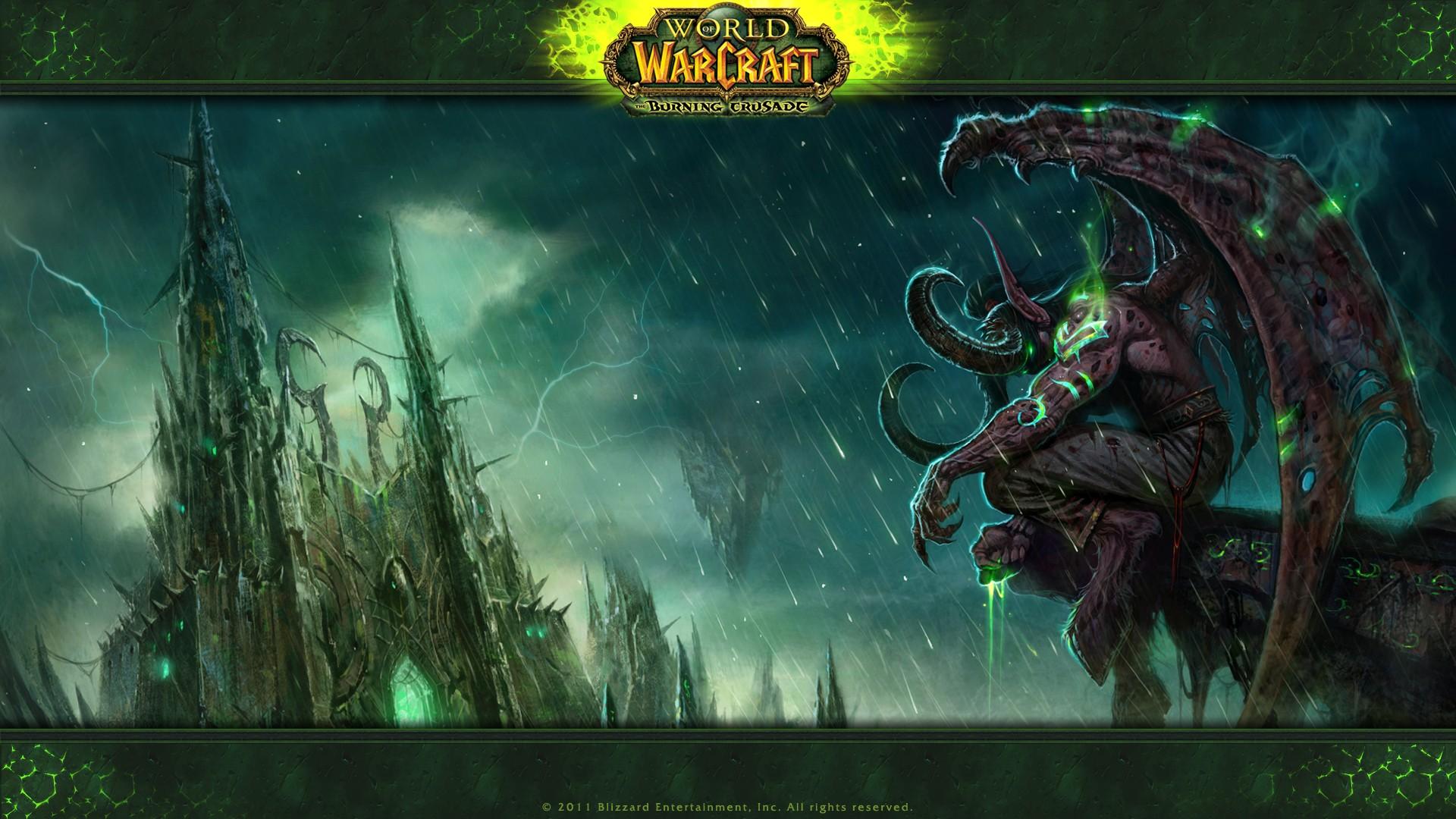 General 1920x1080 World of Warcraft World of Warcraft: The Burning Crusade Illidan Stormrage video games