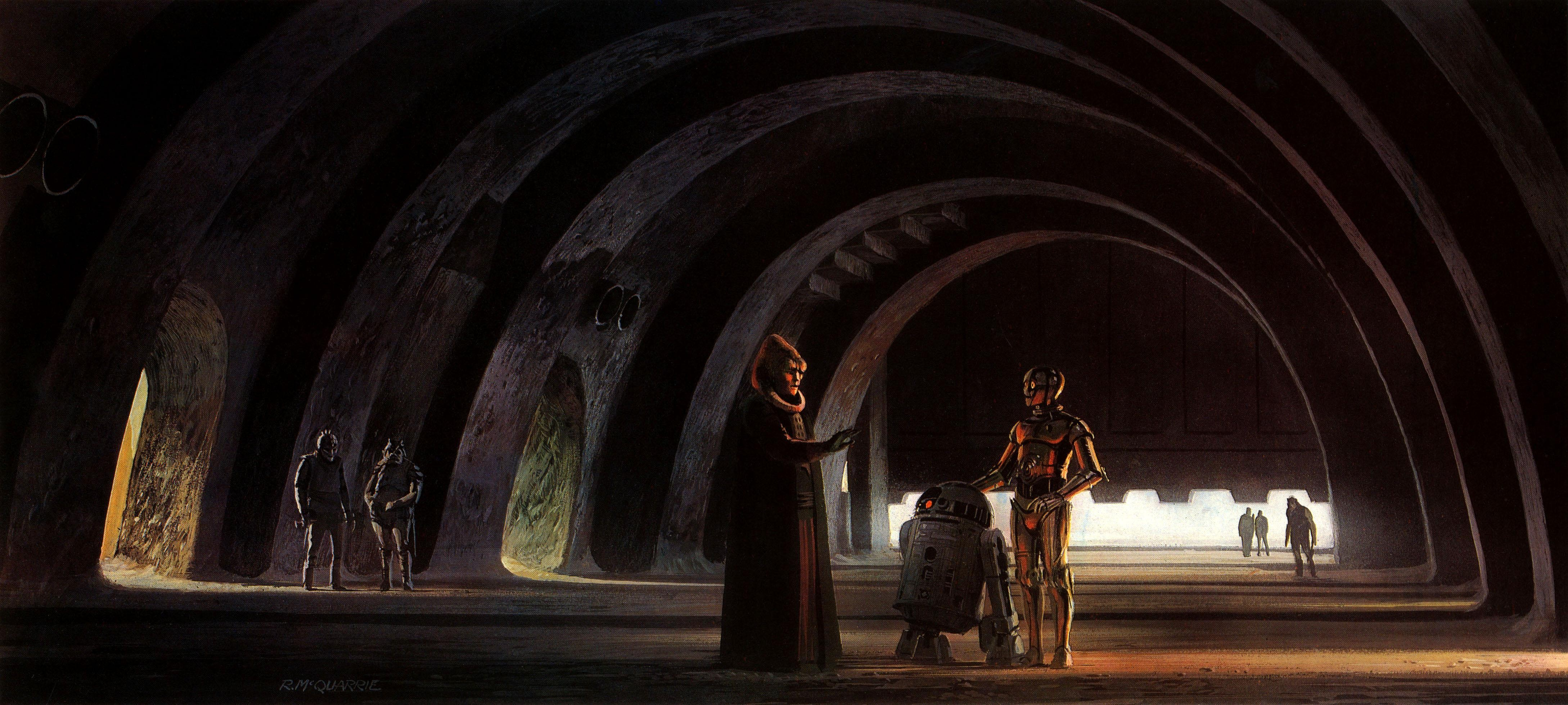 General 4356x1958 Star Wars Star Wars Droids science fiction artwork