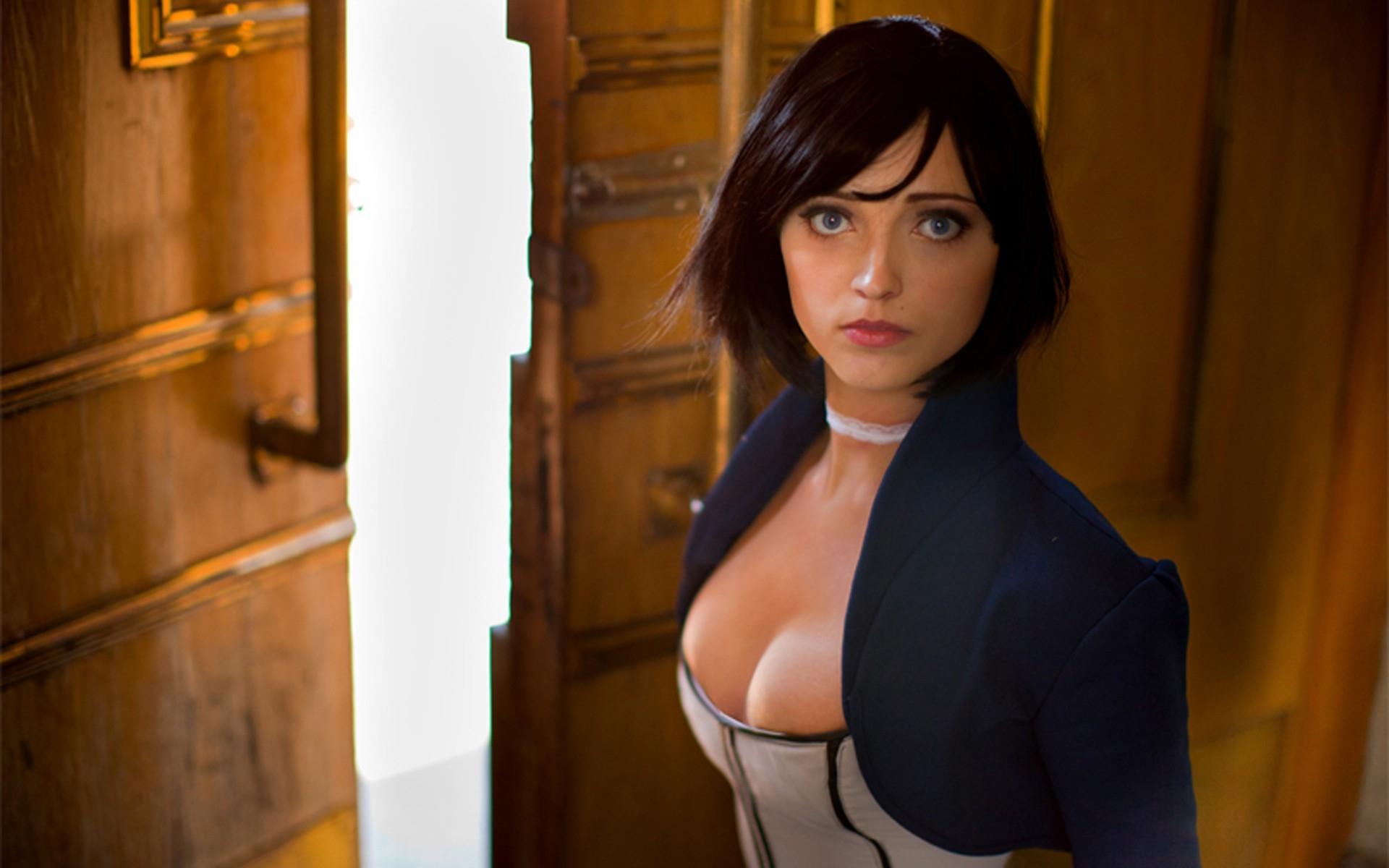 General 1920x1200 video games cosplay women Elizabeth (BioShock)