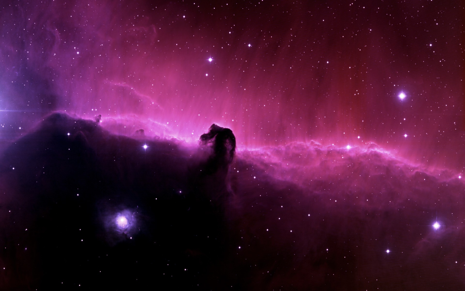 General 1920x1200 space galaxy Horsehead Nebula digital art stars space art