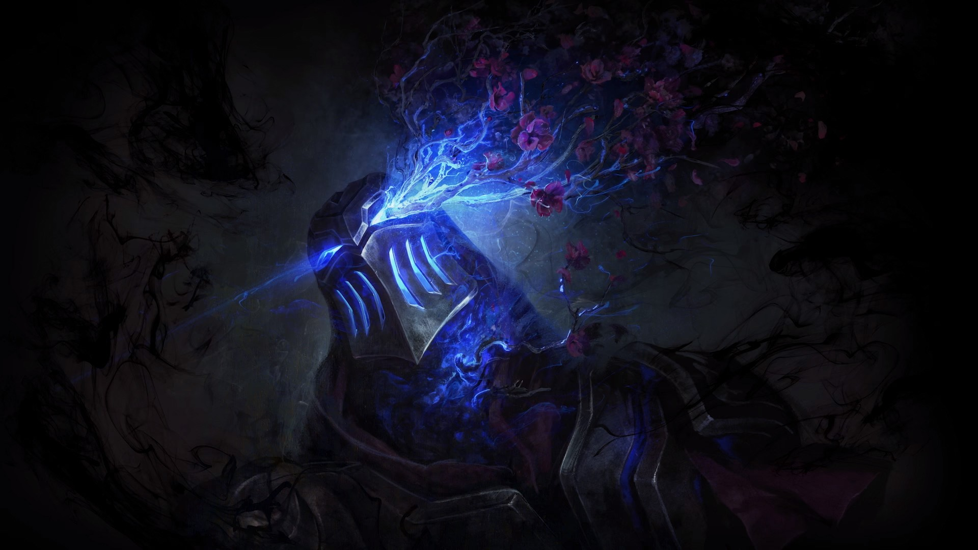 General 1920x1080 Zed (League of Legends) Zed video games fan art fantasy art