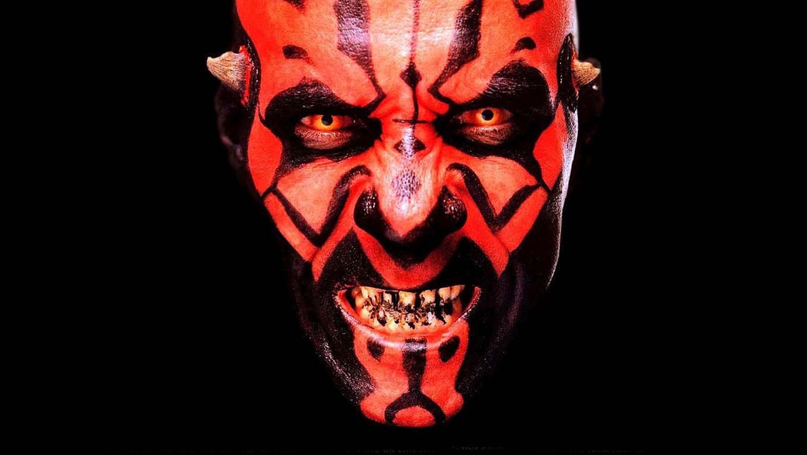 General 1594x900 Darth Maul Star Wars red eyes Sith Star Wars Villains
