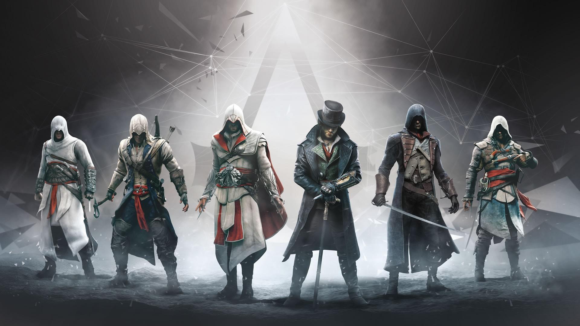 General 1920x1080 video games Assassin's Creed Syndicate Assassin's Creed Assassin's Creed: Brotherhood Assassin's Creed: Black Flag Altaïr Ibn-La'Ahad Edward Kenway