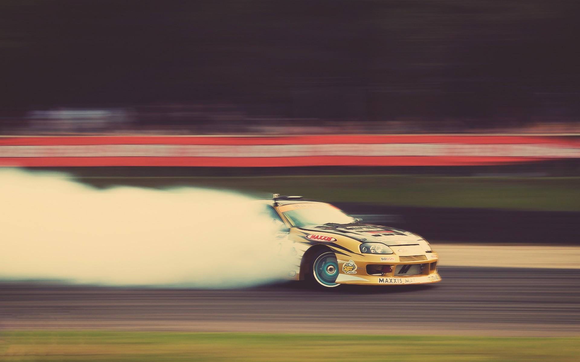 General 1920x1200 drift car vehicle sport  drift cars Toyota Supra Toyota Motorsport smoke