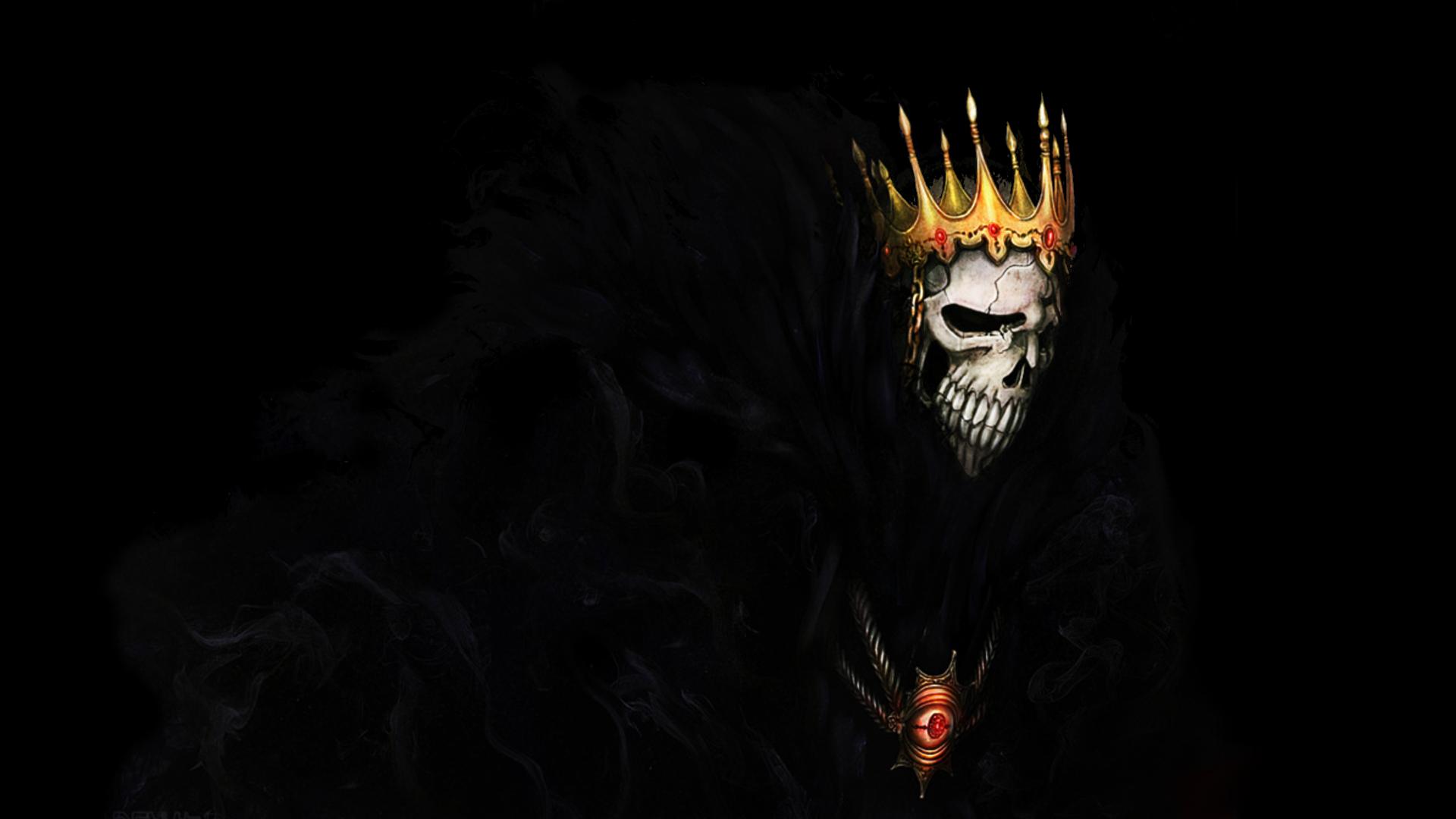 Anime 1920x1080 Bleach death Barragan Luisenbarn skull Espada