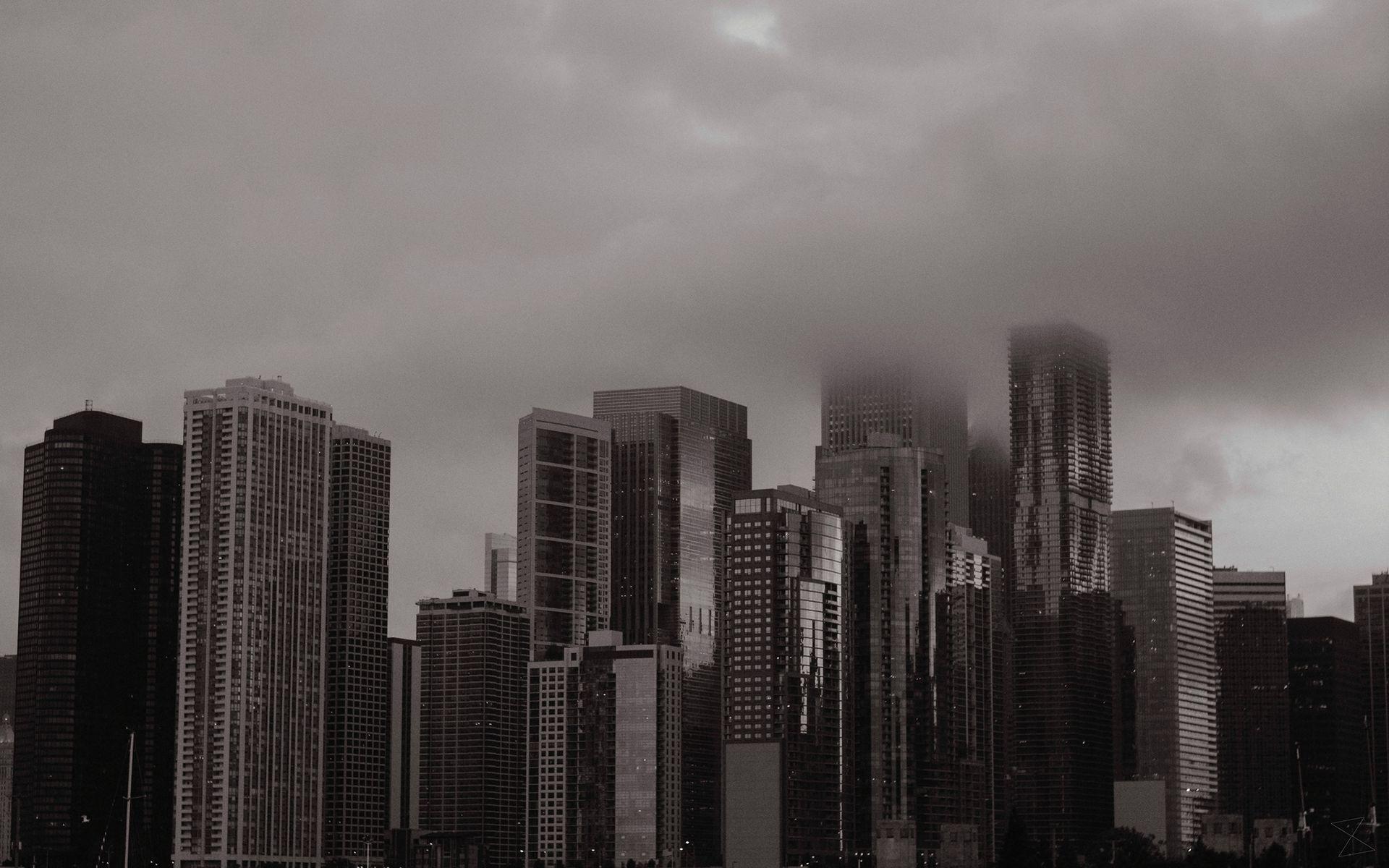 General 1920x1200 city cityscape clouds skyscraper Chicago USA