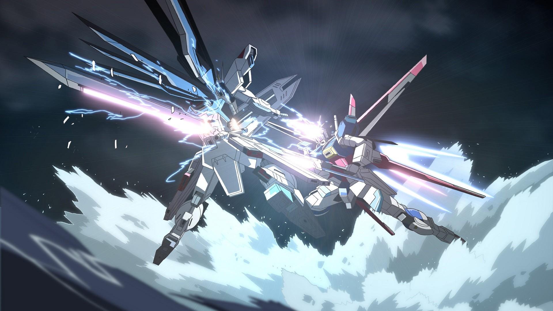 Anime 1920x1080 Gundam Seed mech Mobile Suit Gundam SEED ZGMF-X10A Freedom