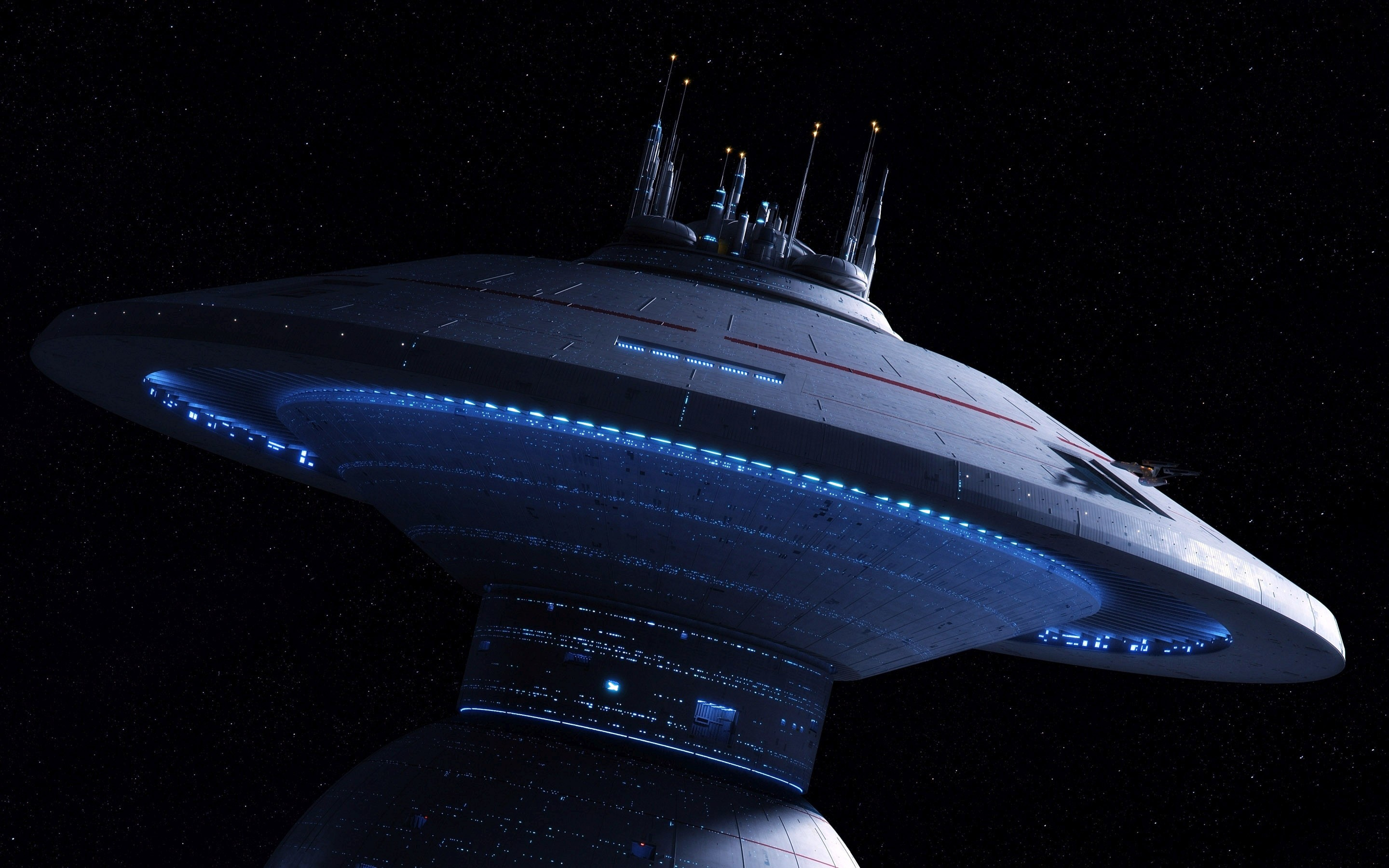 General 2880x1800 Star Trek space station science fiction movies