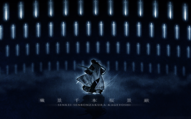 Anime 1440x900 Bleach samurai sword Kuchiki Byakuya bankai