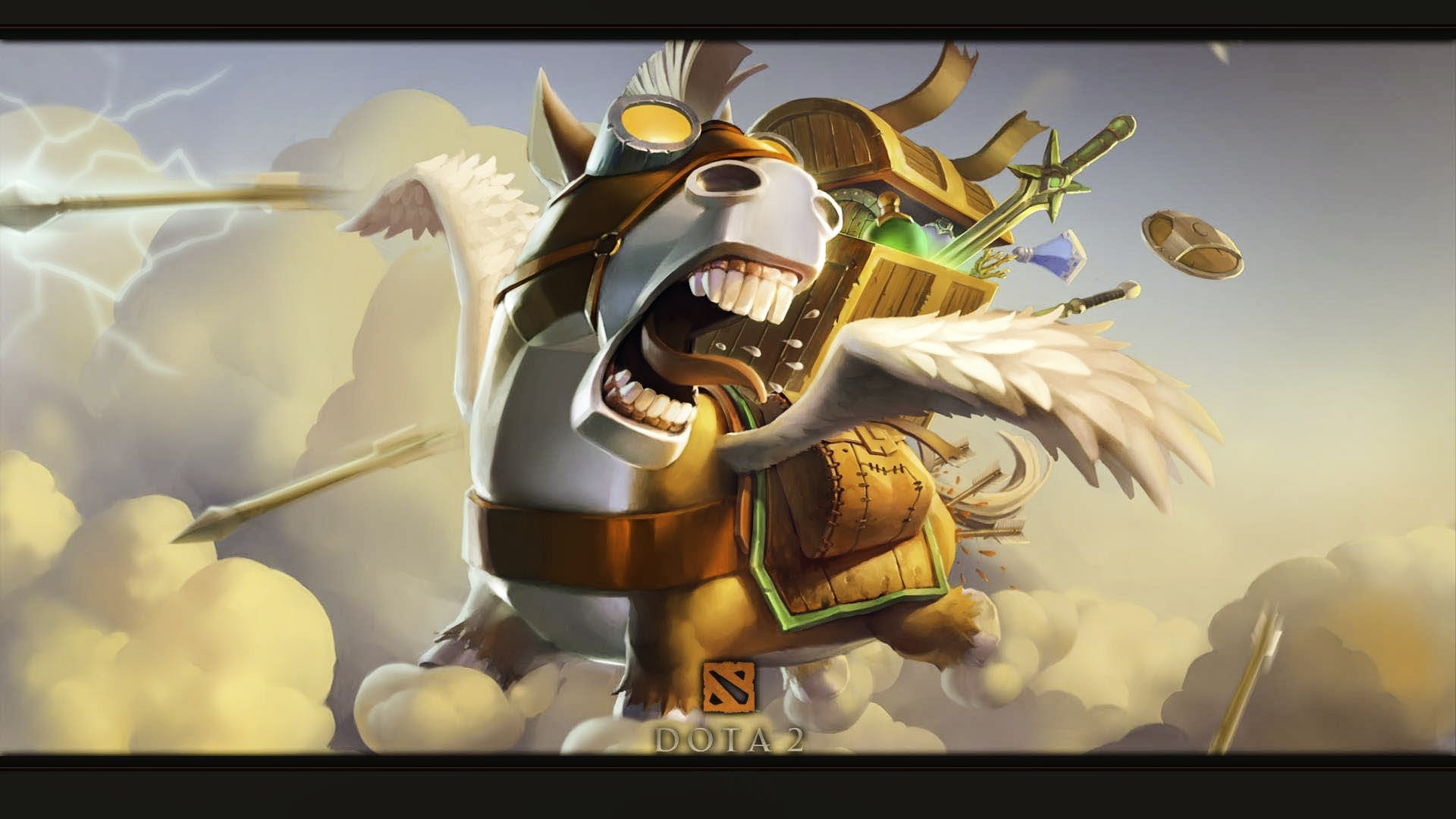 General 1920x1080 Dota 2 Dota 2 Courier creature PC gaming