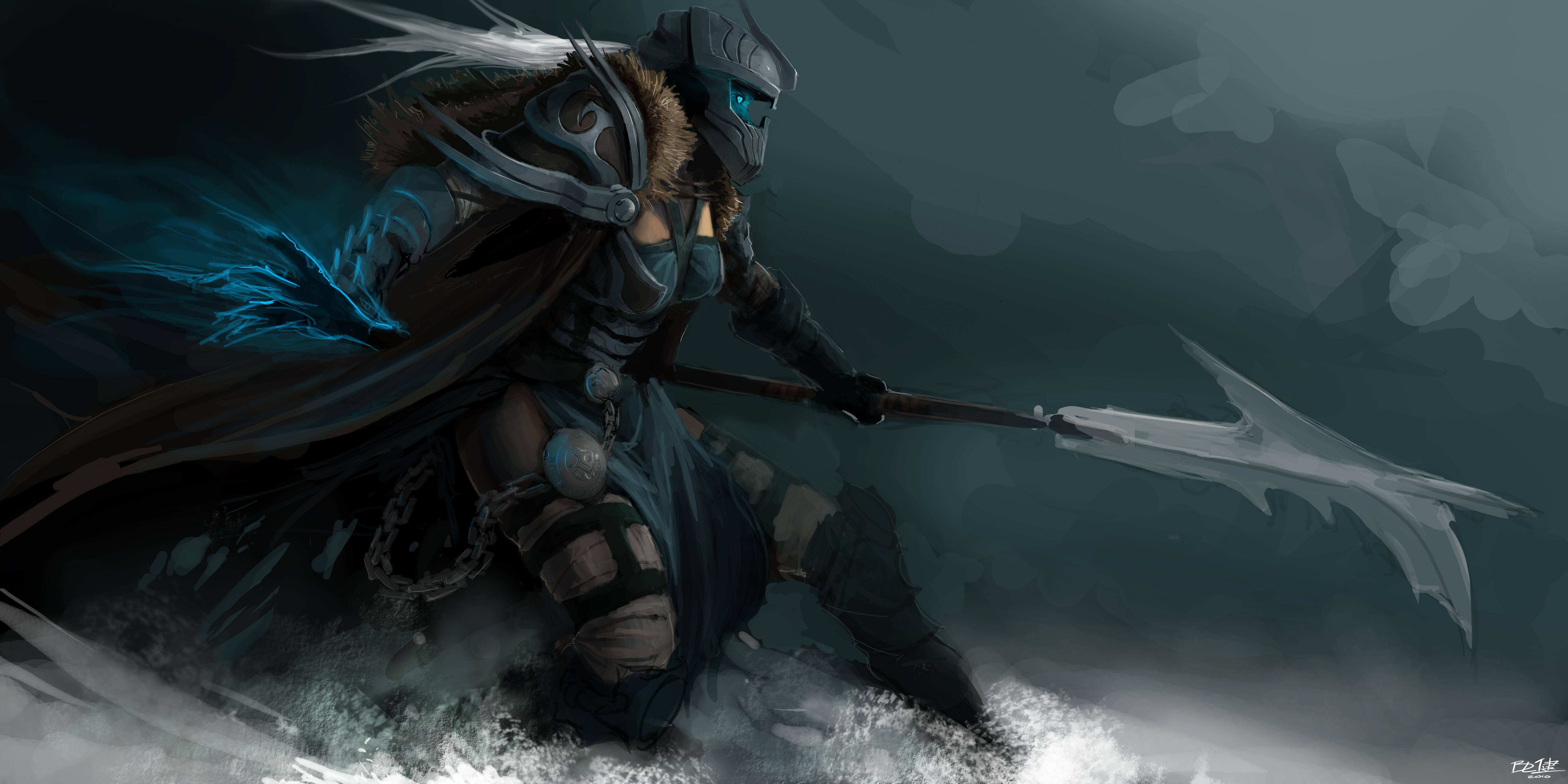General 6600x3300 fantasy art fantasy girl artwork warrior