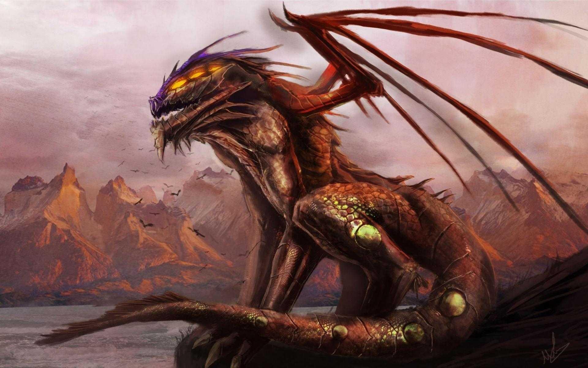 General 1920x1200 fantasy art creature dragon artwork