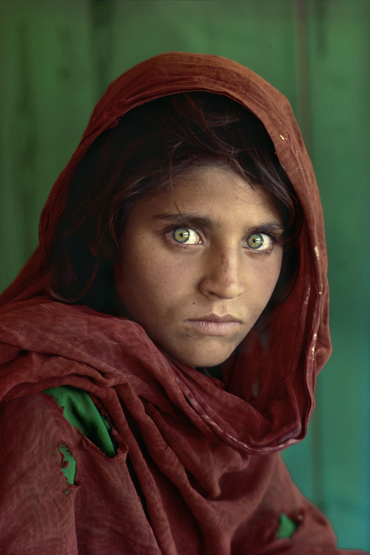 People 2000x3000 Afghan Girl Steve McCurry photography artwork portrait display children