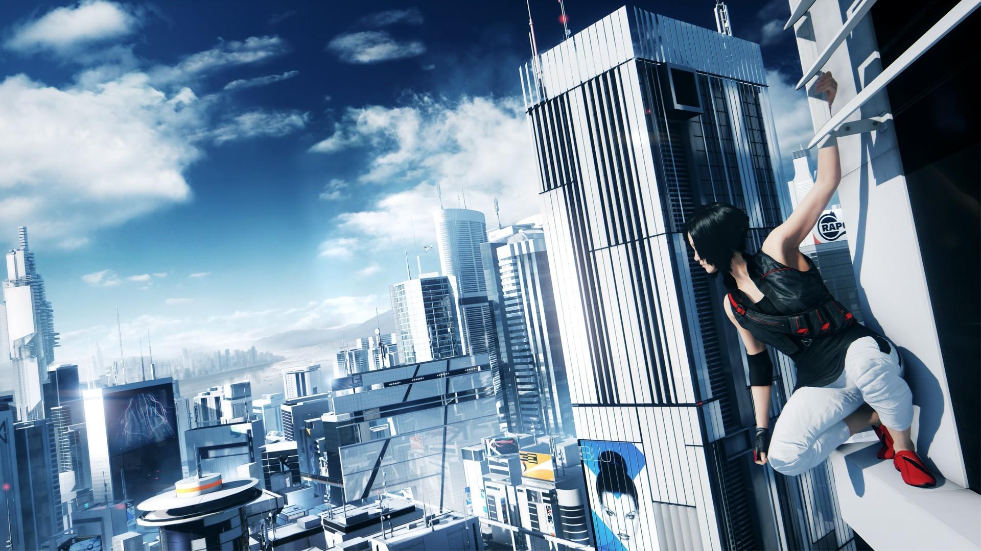General 1920x1080 Mirror's Edge building cityscape video games