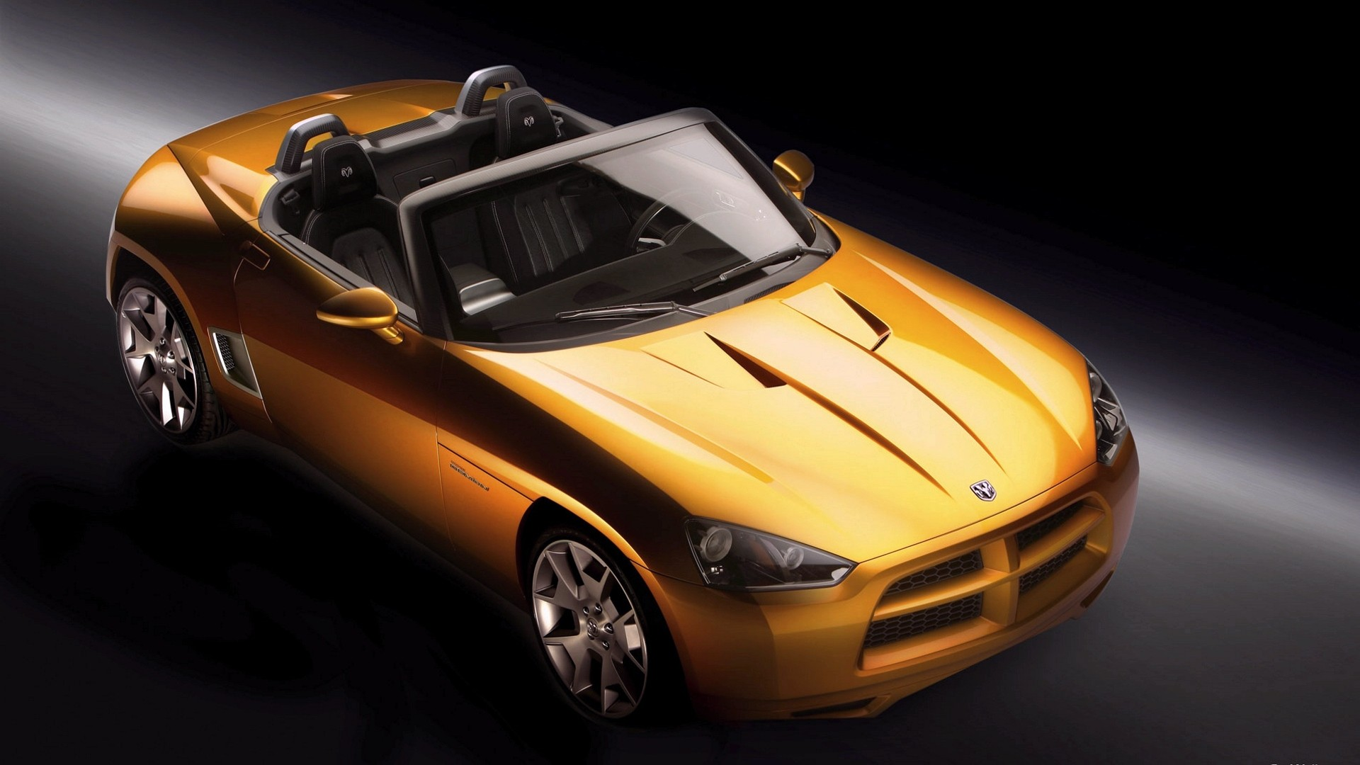 General 1920x1080 car vehicle orange cars Dodge Dodge Demon concept high angle