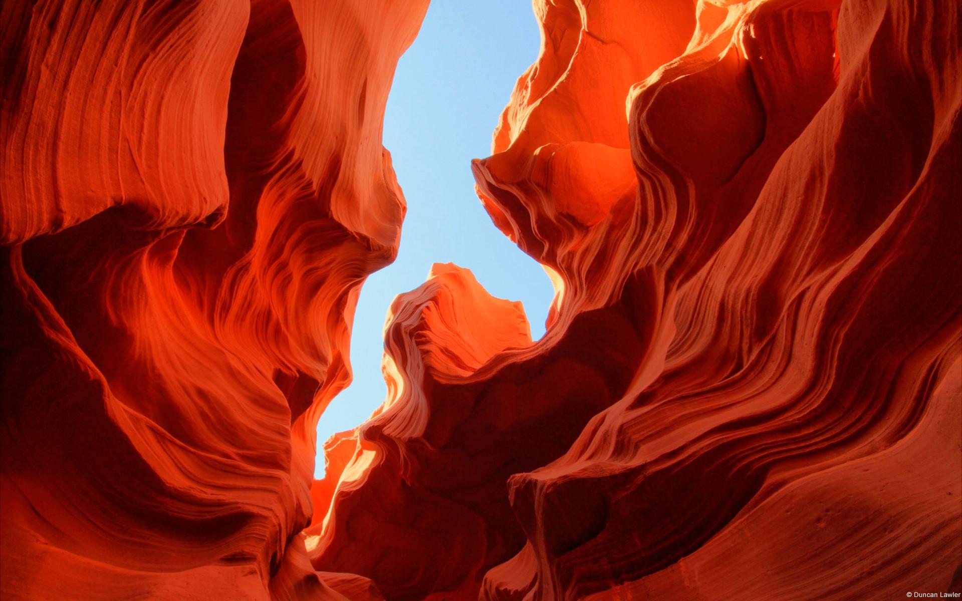 General 1920x1200 nature landscape rock formation canyon Antelope Canyon Arizona red USA rock