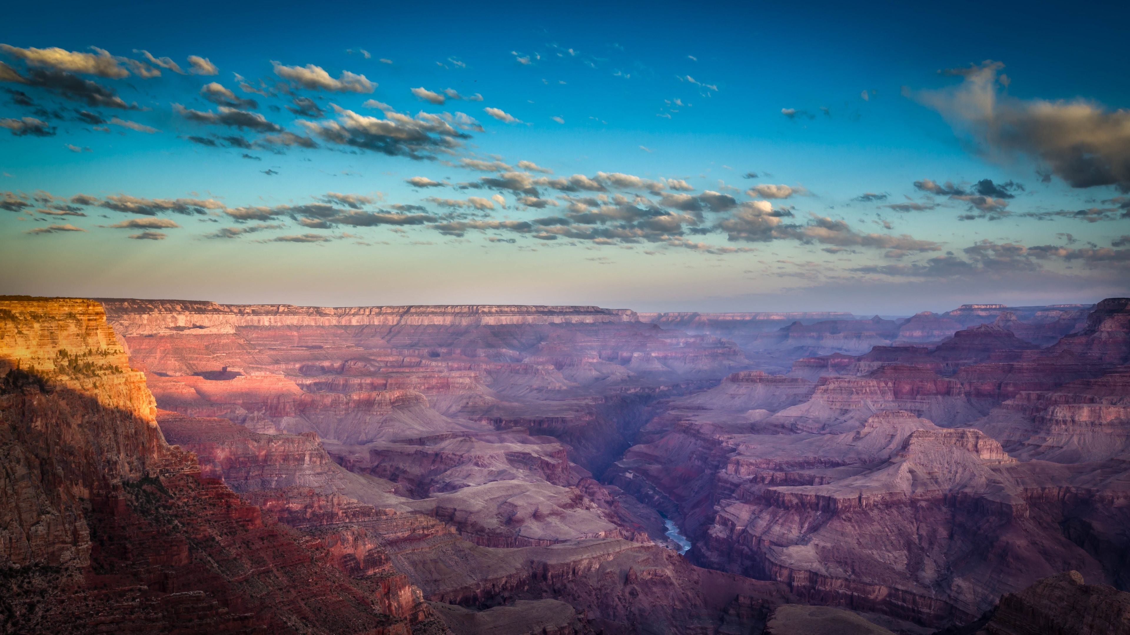 General 3840x2160 nature landscape Grand Canyon rock sky USA