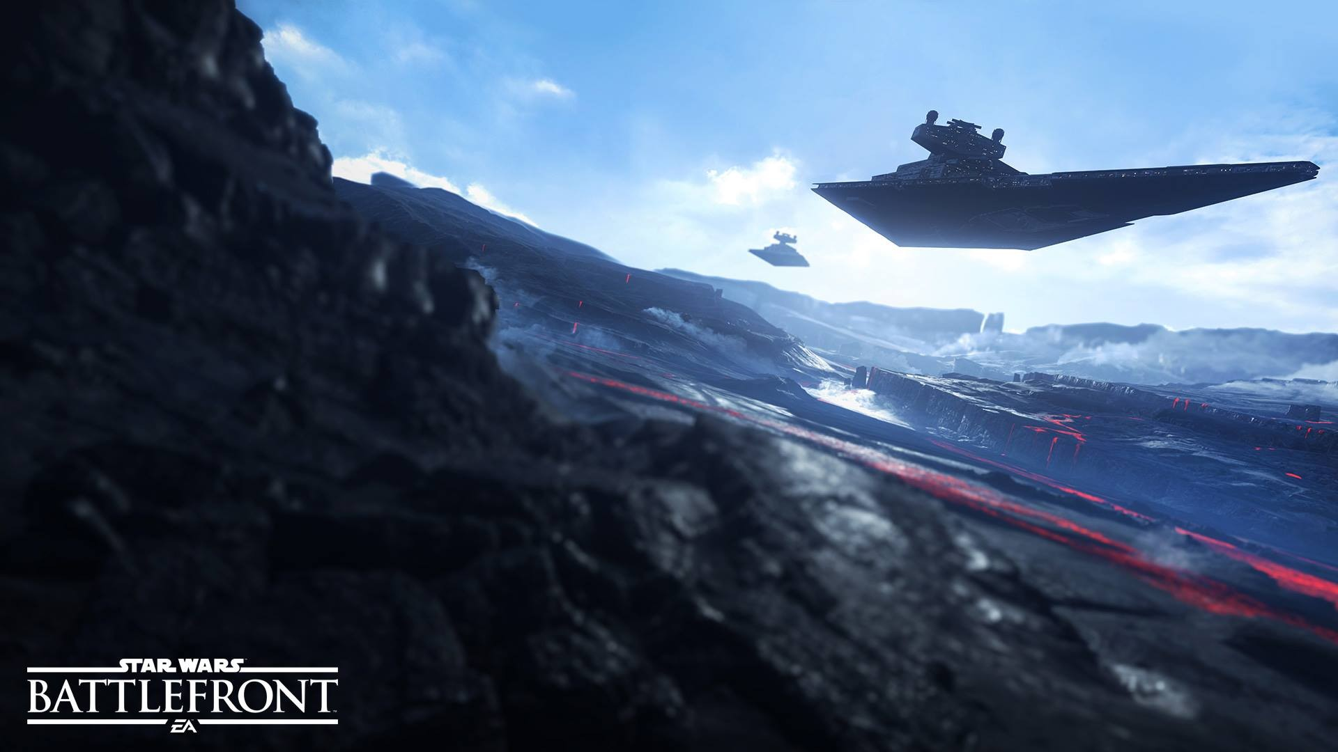 General 1920x1080 Star Wars: Battlefront Star Wars Star Destroyer Galactic Empire Sullust video games spaceship Star Wars Ships