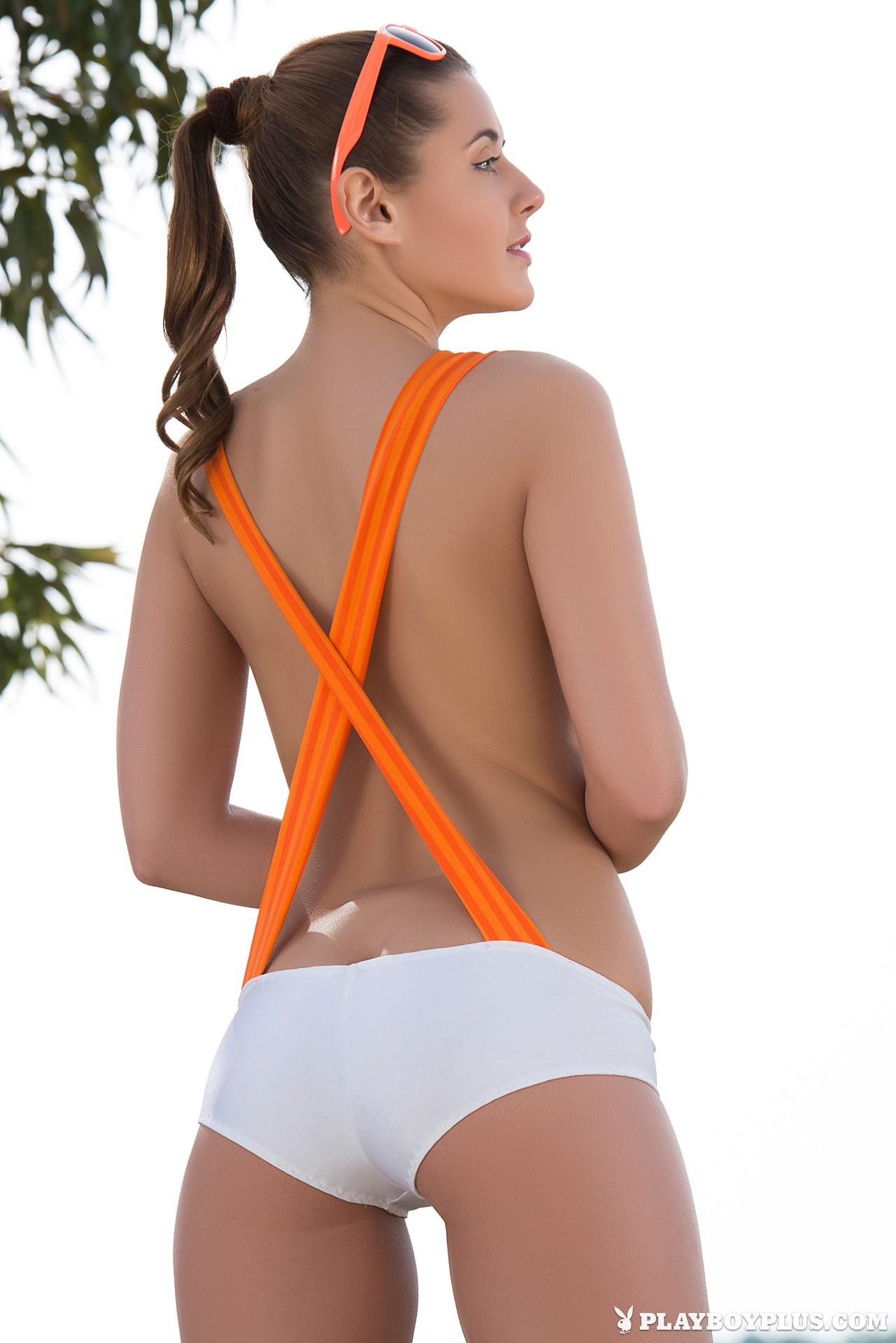 People 1281x1920 Kailena Sybil A white cotton panties Playboy Playboy Plus Playmate Davina E.