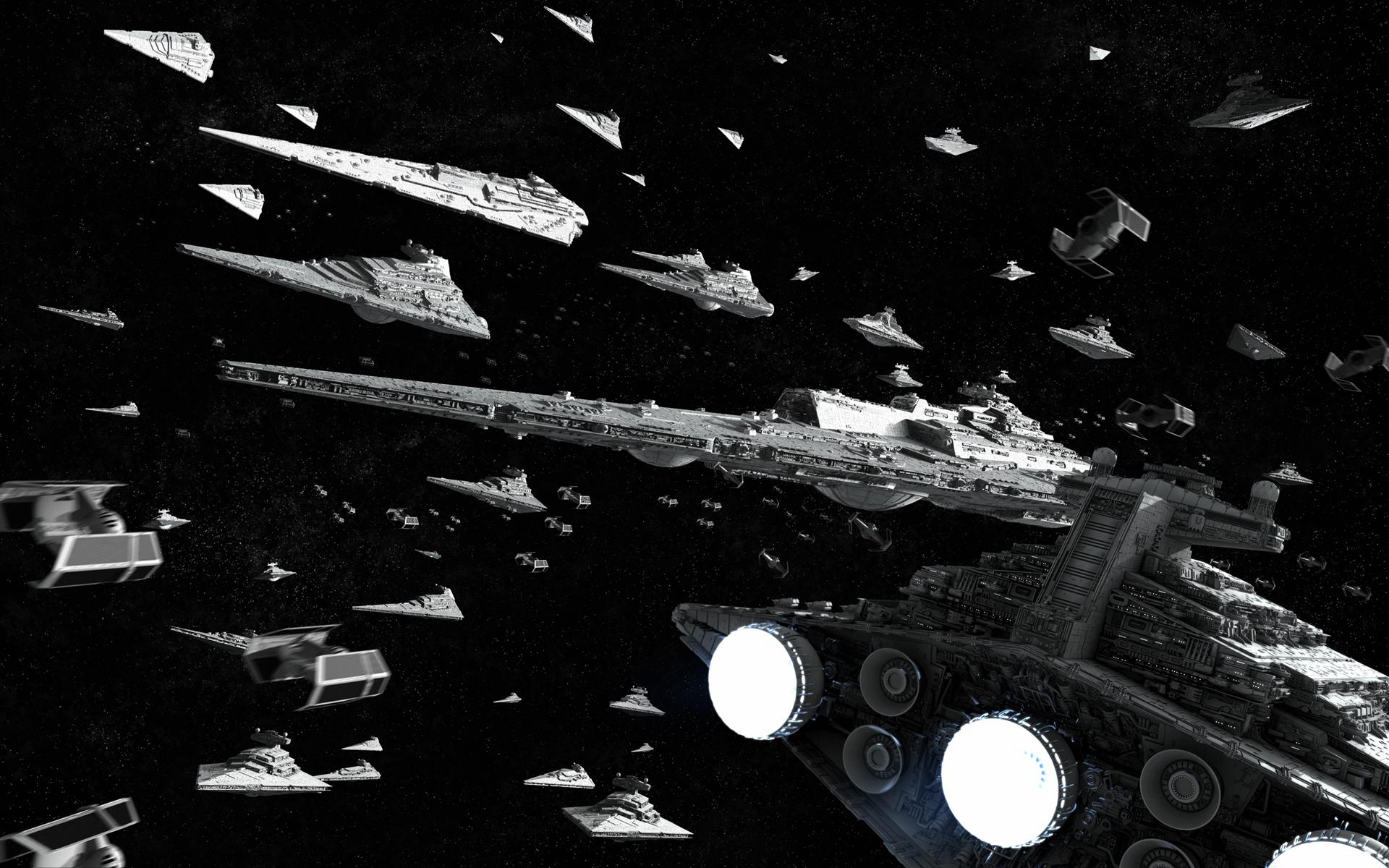 General 1920x1200 Star Wars movies Star Destroyer Super Star Destroyer fleet render science fiction CGI TIE Advanced Bellator-class dreadnought Star Wars Ships Imperial Forces
