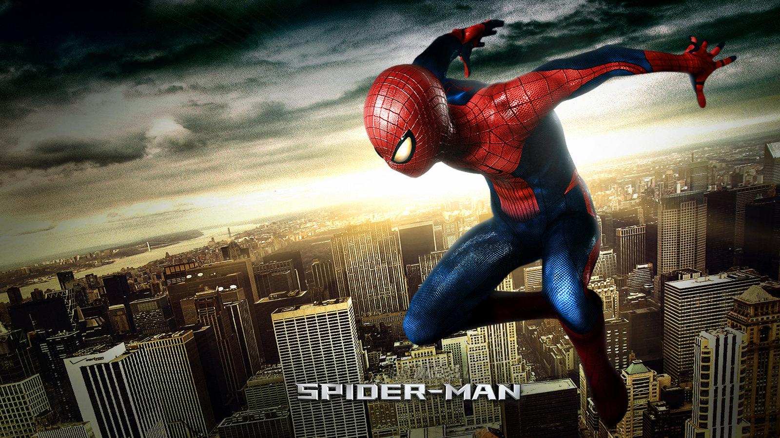 General 1600x900 Spider-Man movies digital art superhero
