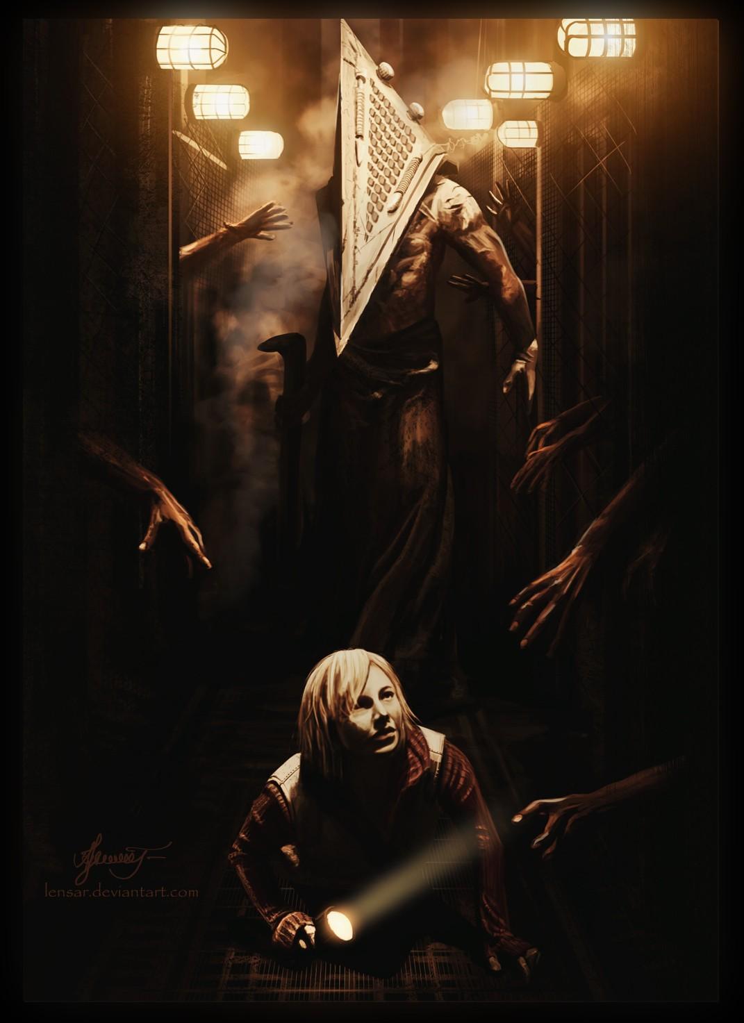 General 1071x1473 Silent Hill: Revelation horror flashlight Pyramid Head movies konami