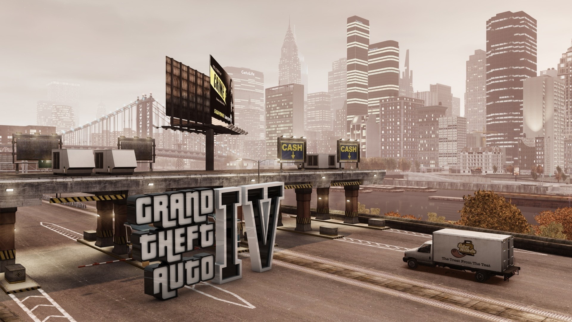 General 1920x1080 Grand Theft Auto IV video games video game art cityscape PC gaming