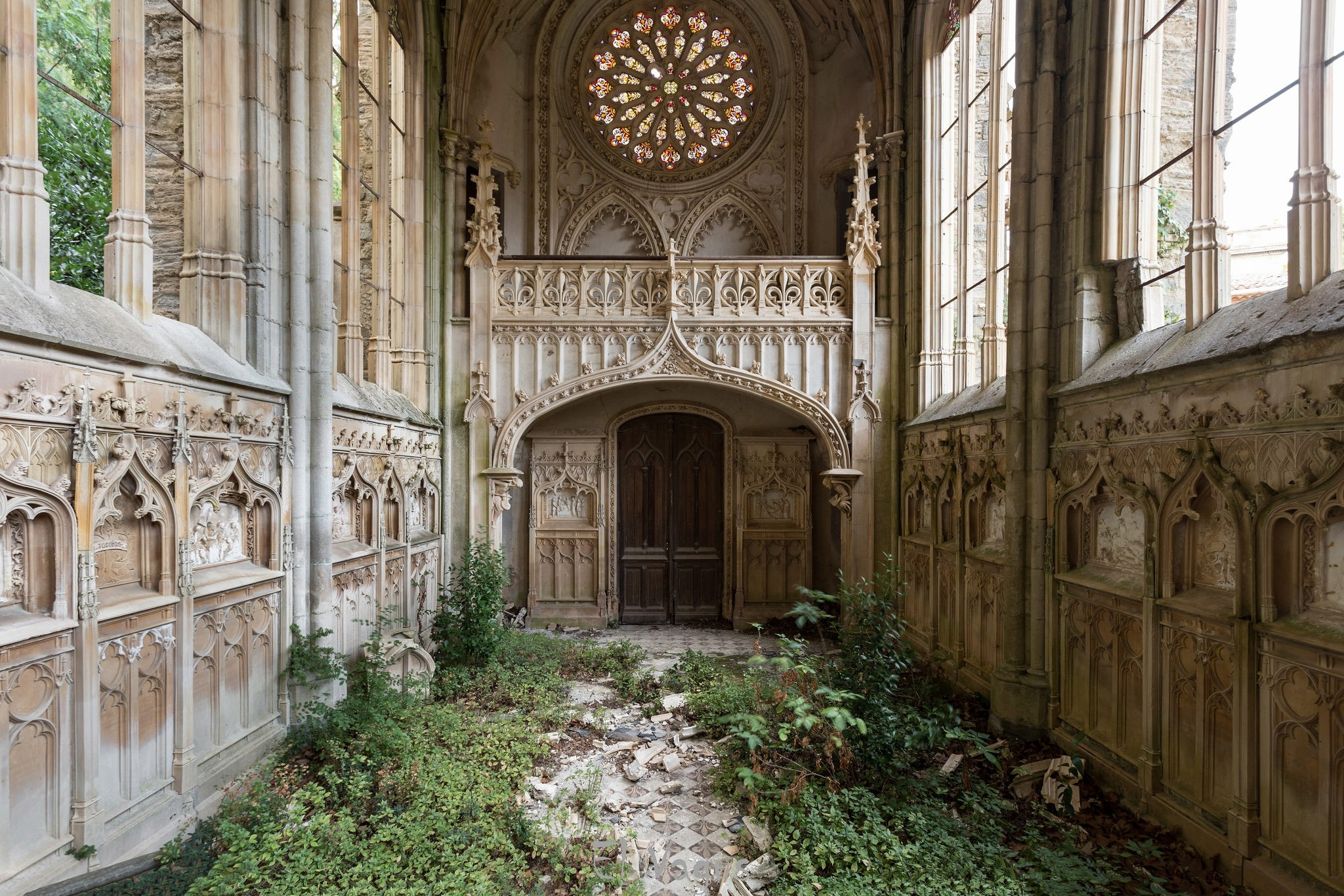 General 2048x1365 church France architecture gothic architecture abandoned