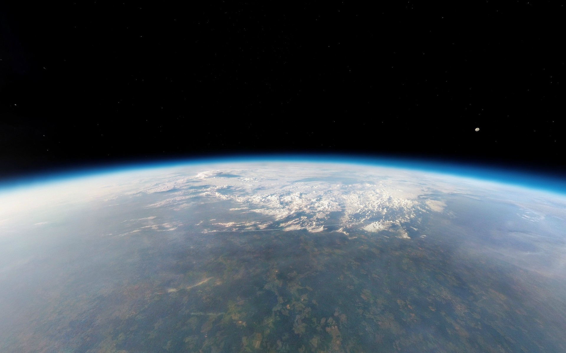 General 1920x1200 Earth space atmosphere clouds orbital view